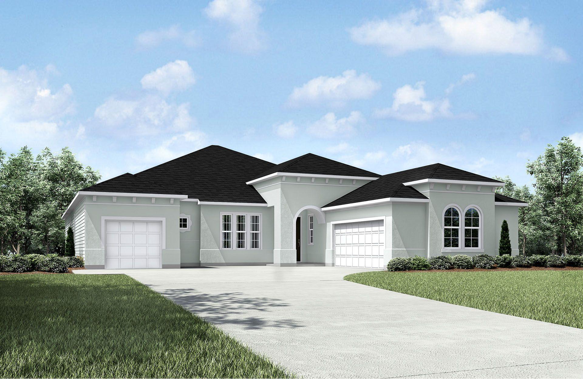 Uma única Família para Venda às Magnolia Point - Radford 3695 Red Hawk Ct. Green Cove Springs, Florida 32043 United States