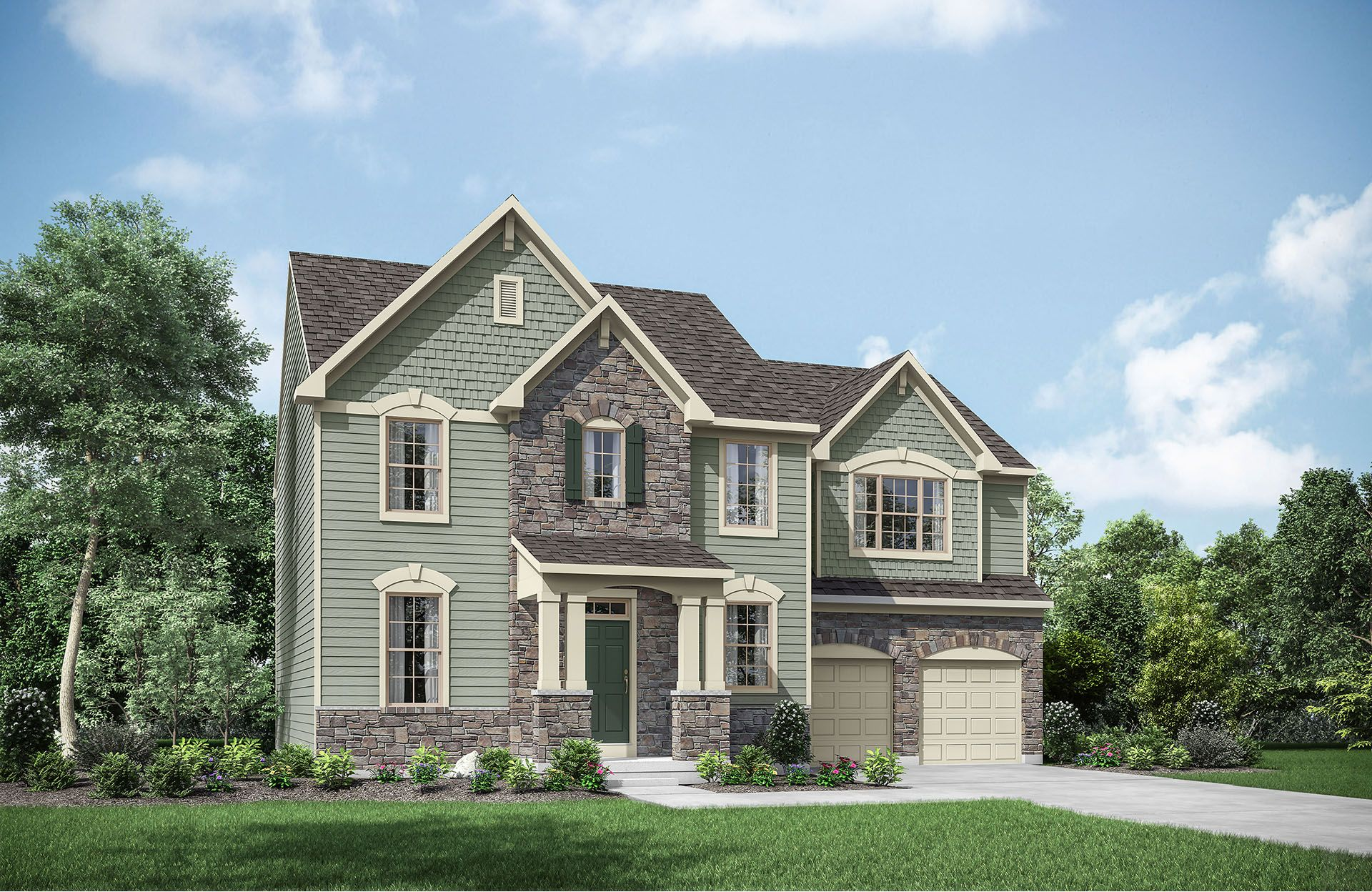 Single Family for Active at Tallyn Ridge Estates - Ainsley 8395 Pine Bluff Road Frederick, Maryland 21704 United States