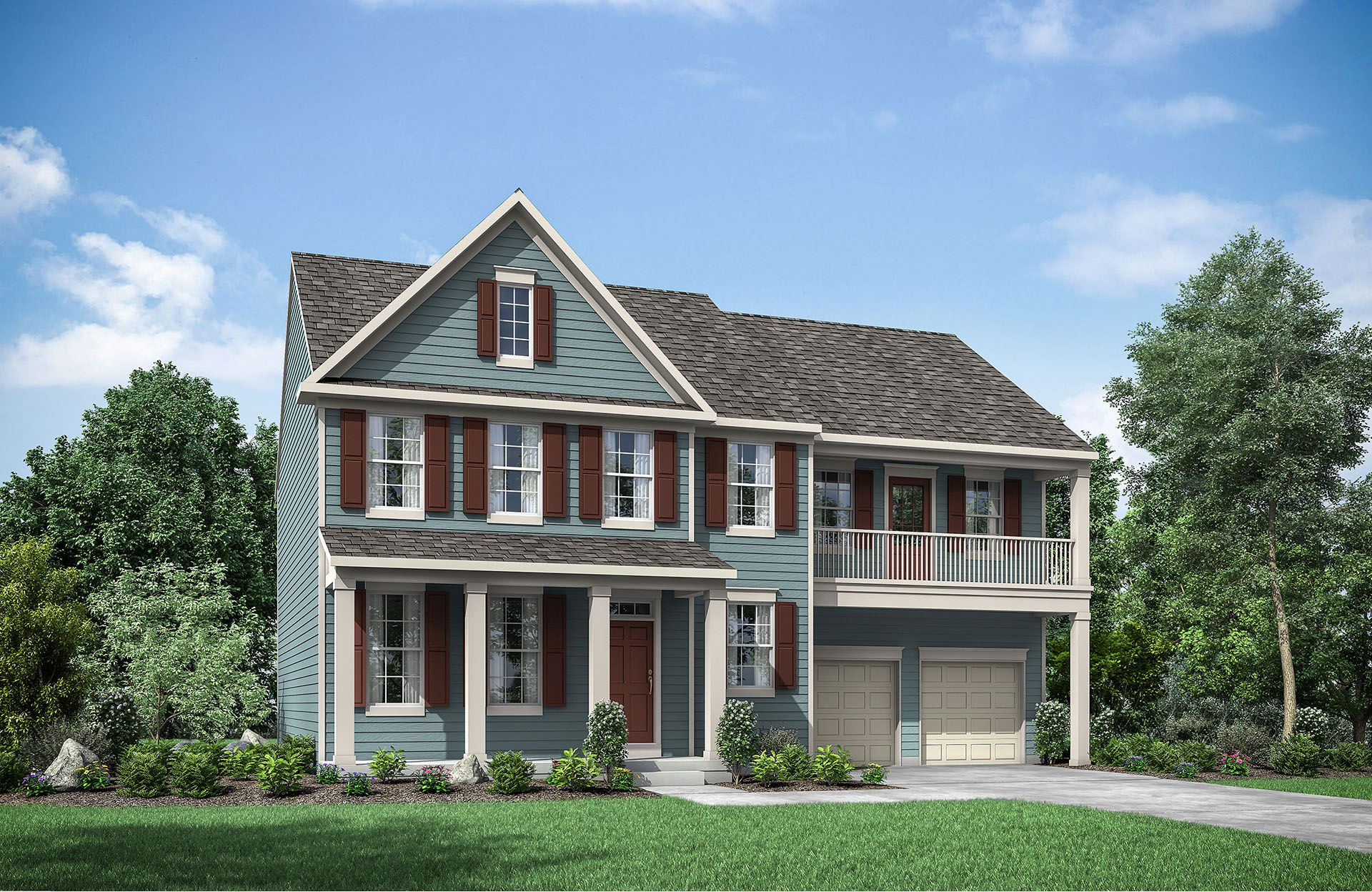 Single Family for Active at Ainsley 5511 Golden Eagle Road Frederick, Maryland 21704 United States