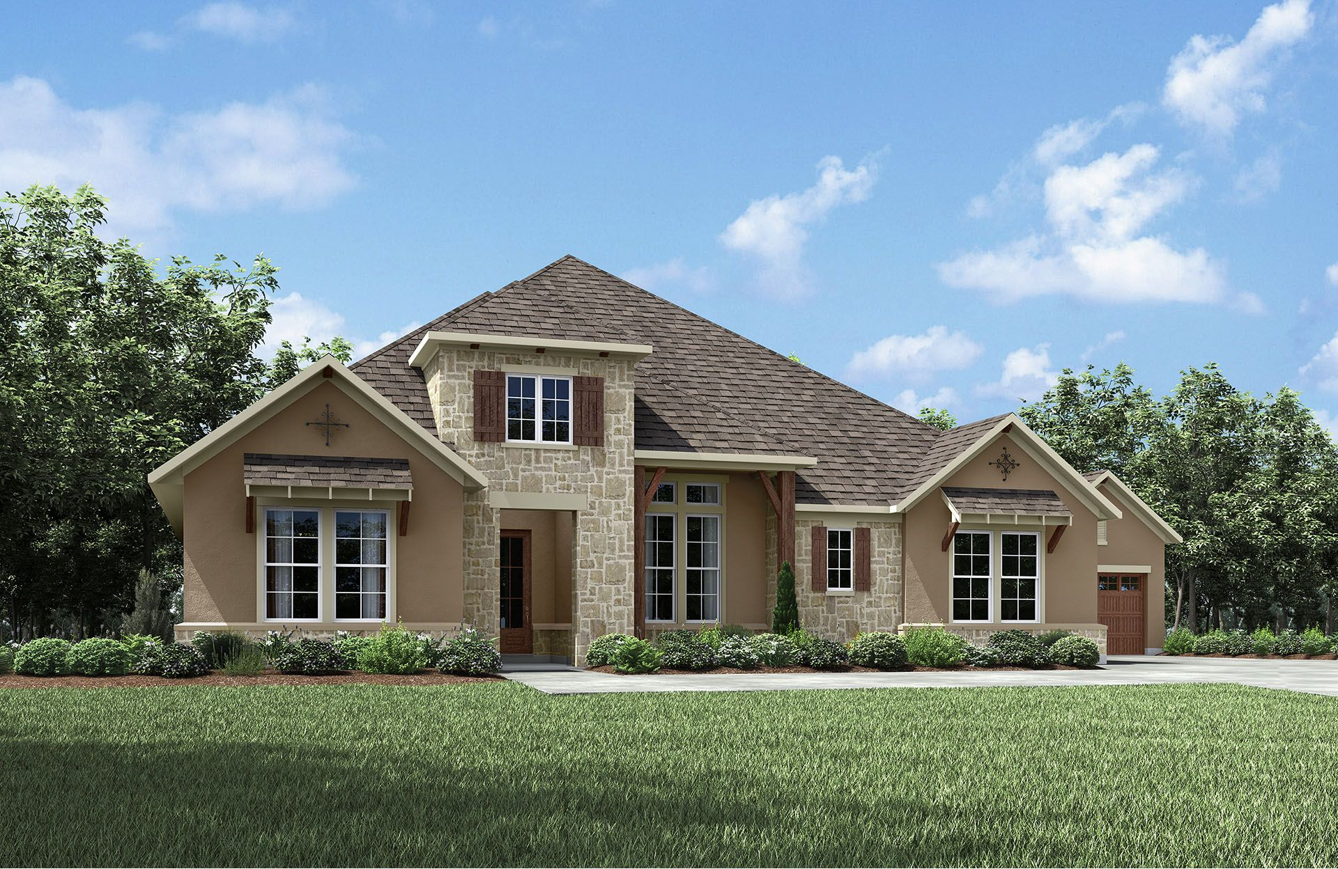 Single Family for Active at Caliterra - Castella Ii 131 Waters View Court Dripping Springs, Texas 78620 United States