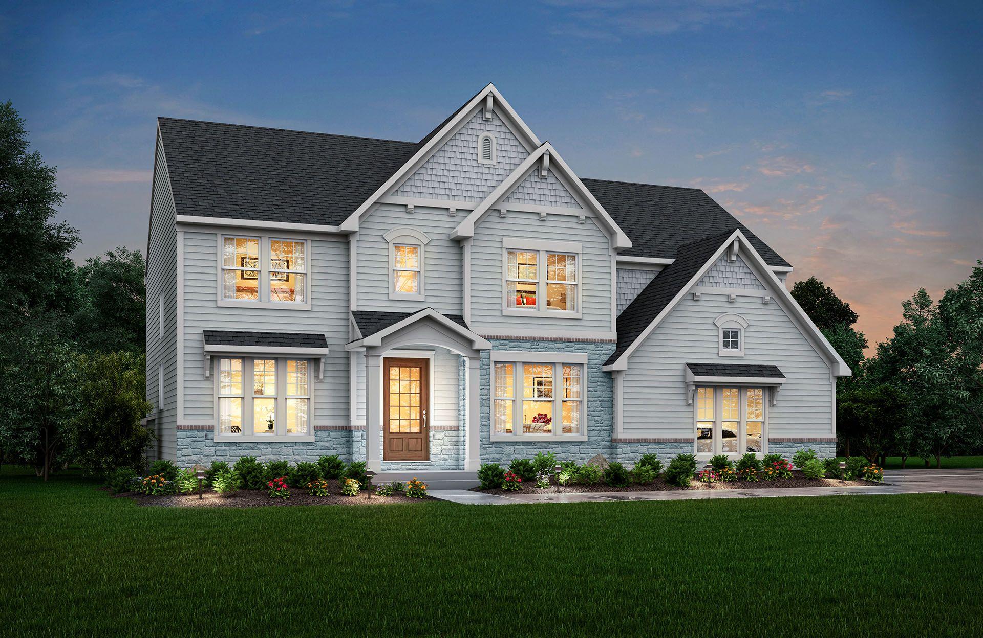Single Family for Active at Oak Ridge At Tipton Lakes - Ash Lawn 4950 Carr Hill Road Columbus, Indiana 47201 United States