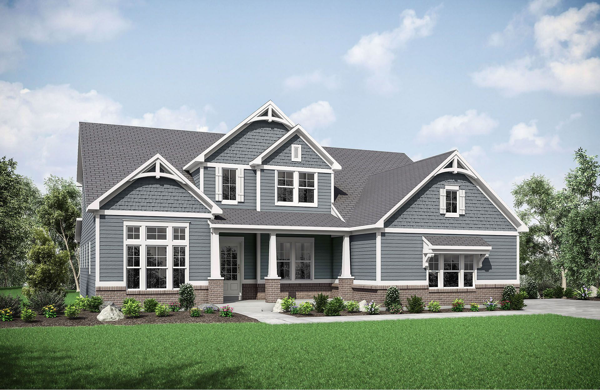 new homes fishers in 11416 amberleigh circle fishers indiana