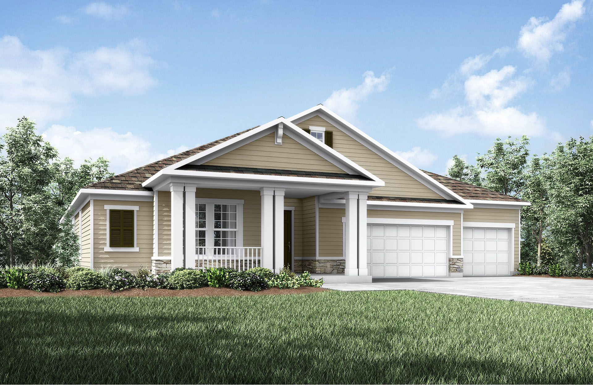 Eagle landing new homes in orange park fl by drees homes for House landing