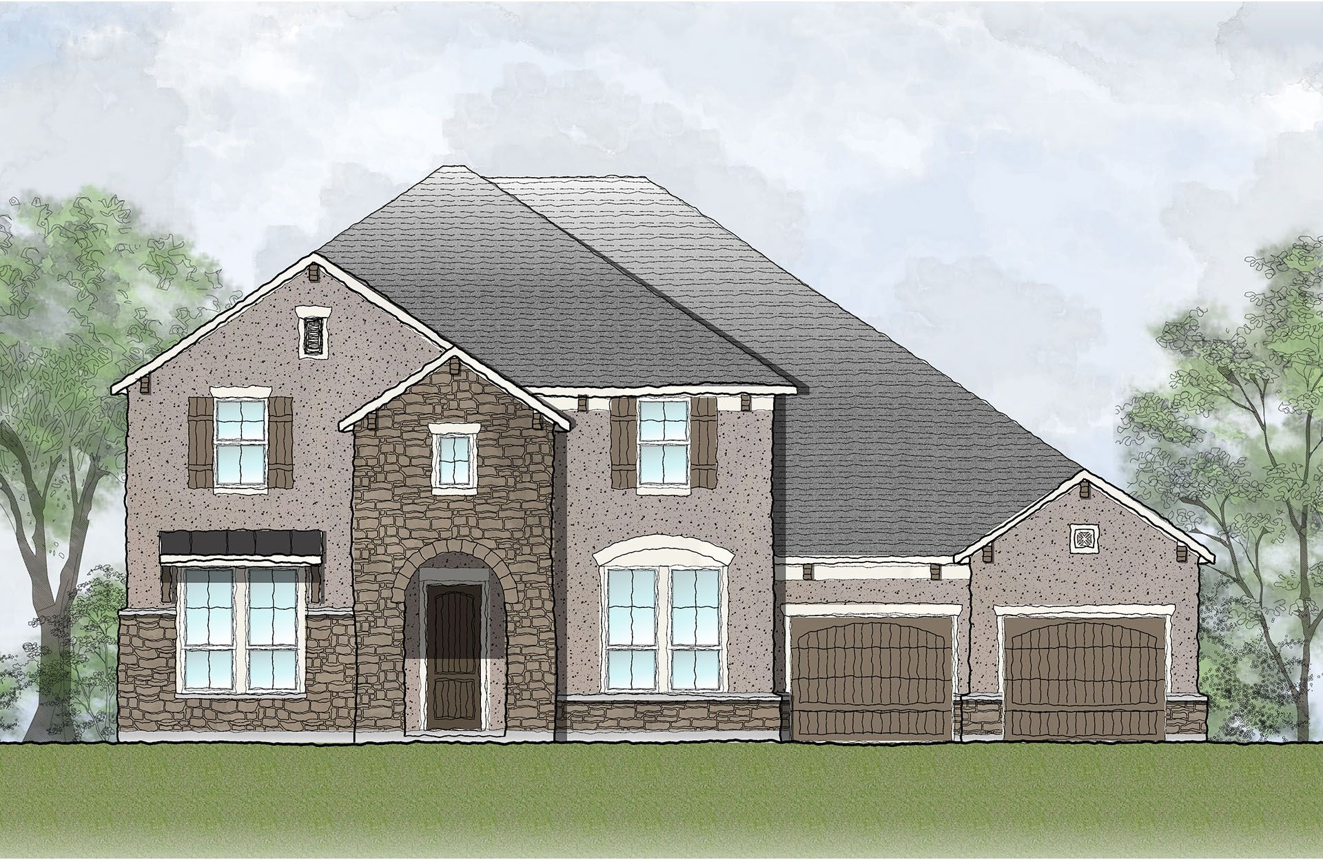 Single Family for Active at Tanner 200 Parke Wind Way Cedar Park, Texas 78613 United States