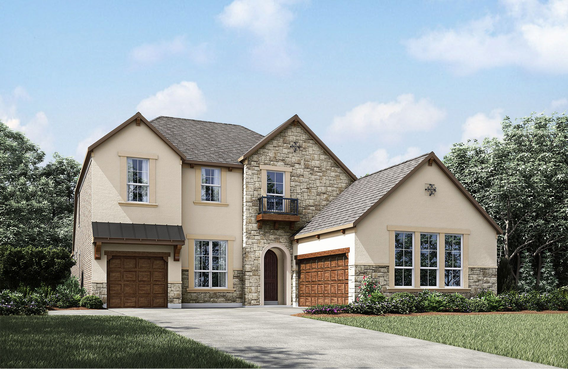 Single Family for Sale at Nature Place - Ravenna 1817 Steeplechase Ct. McKinney, Texas 75069 United States