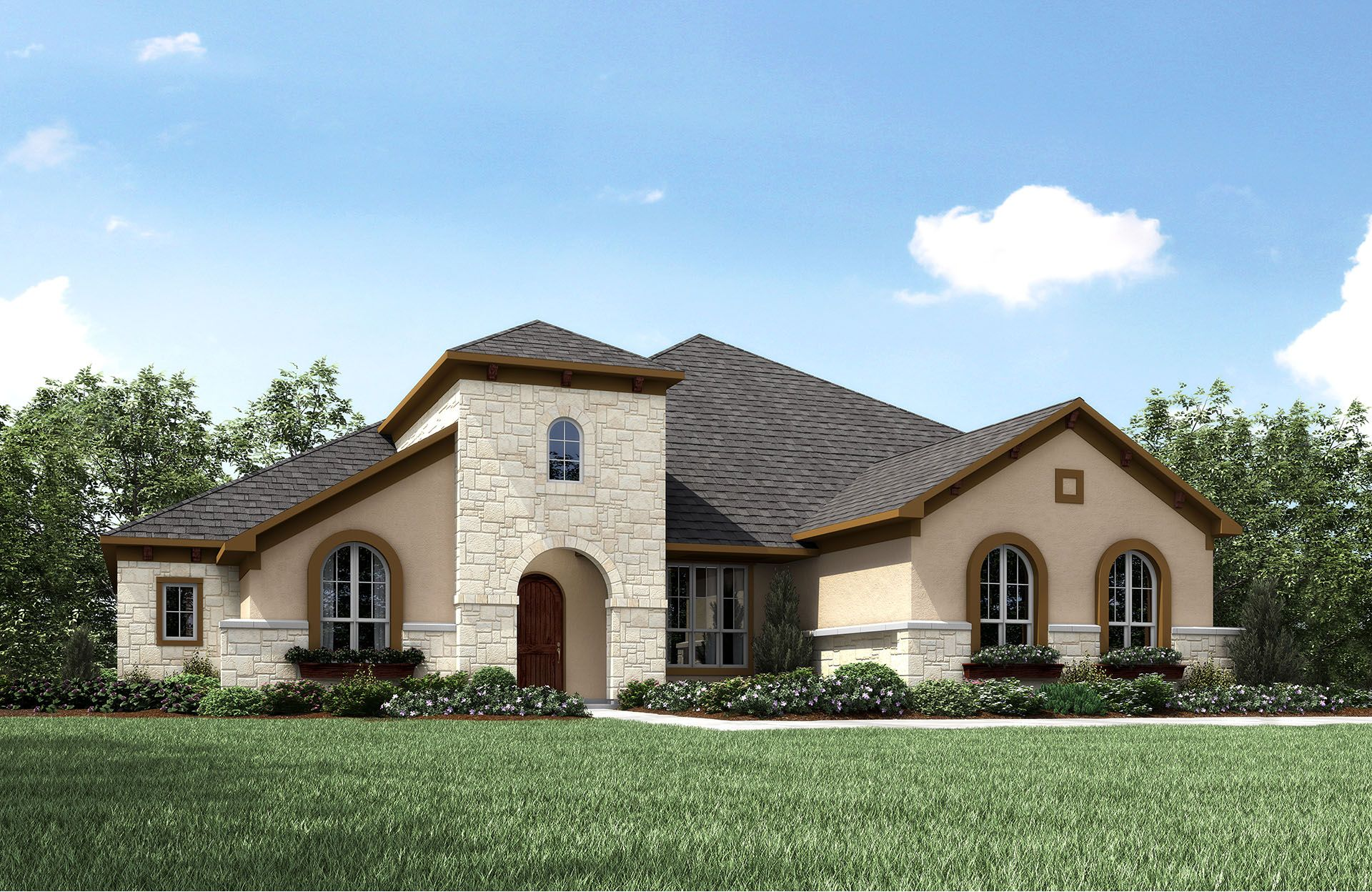Single Family for Active at Crystal Falls - Daventry Ii High Lonesome Leander, Texas 78641 United States