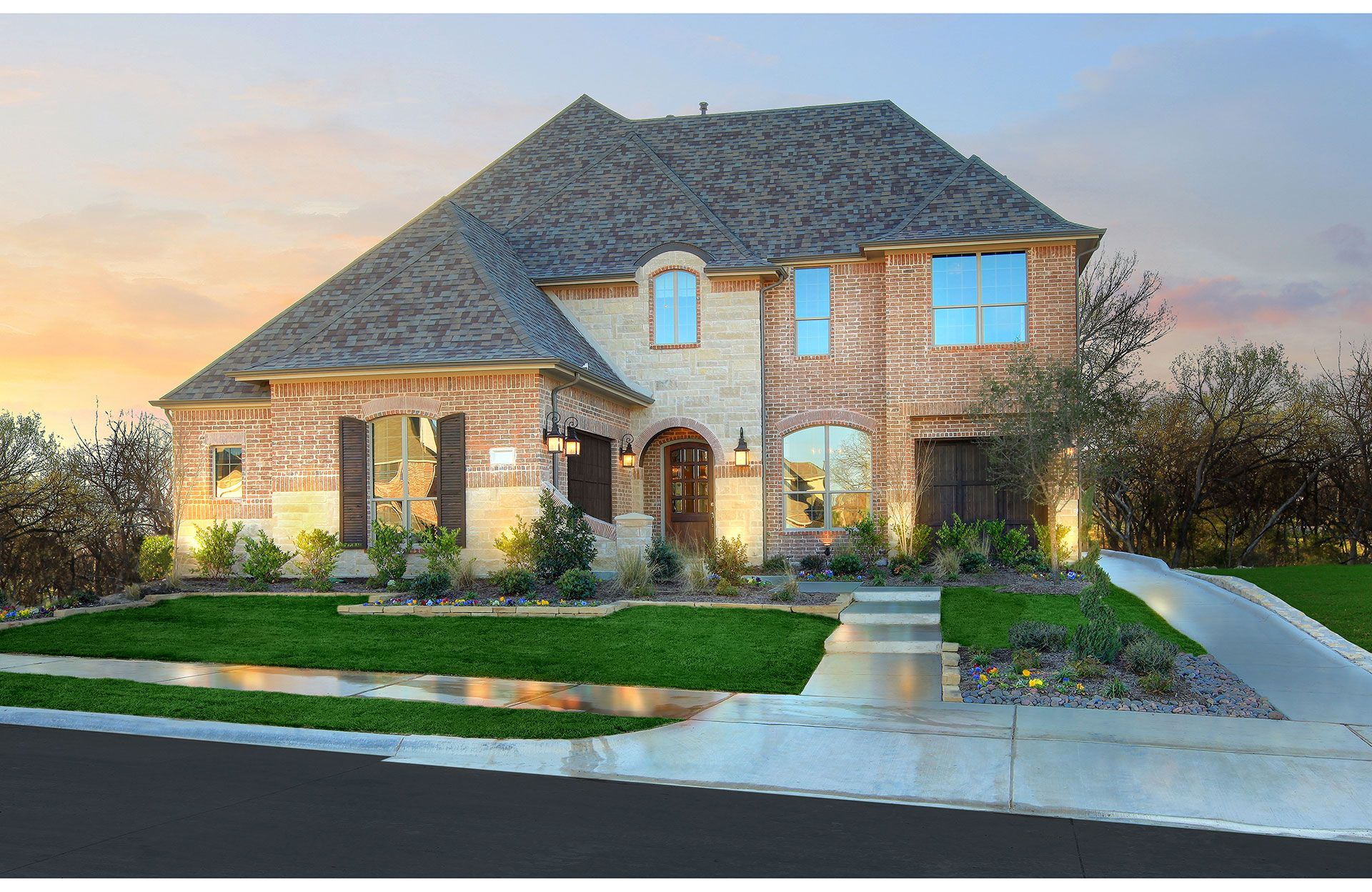 Single Family for Sale at Grayford 1820 Steeplechase Court Allen, Texas 75002 United States