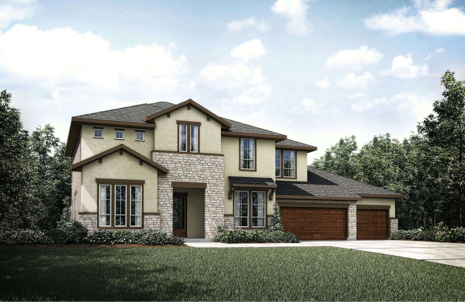 Single Family for Active at Caliterra - Oakbrook 131 Waters View Court Dripping Springs, Texas 78620 United States