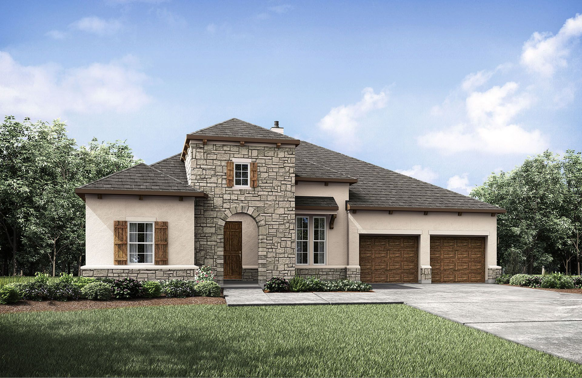 Single Family for Sale at Cimarron Hills - Tinsley 307 Flint Ridge Trail Georgetown, Texas 78628 United States