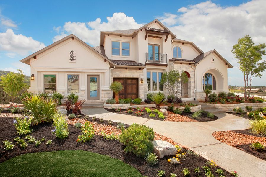 West Parke New Homes In Cedar Park TX By Drees Custom Homes