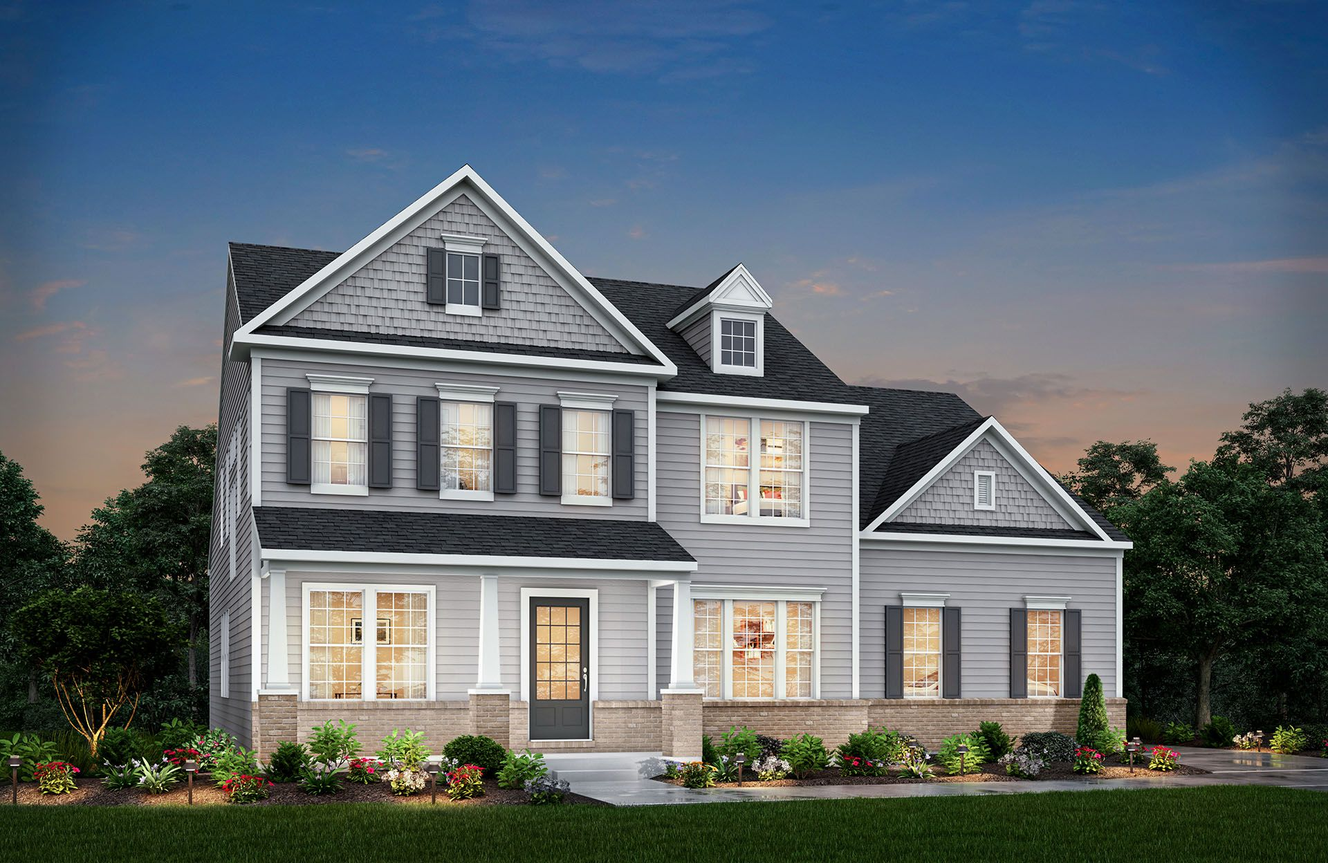 Drees Homes, Design Gallery Homes, Monticello-1271441, Indianapolis ...
