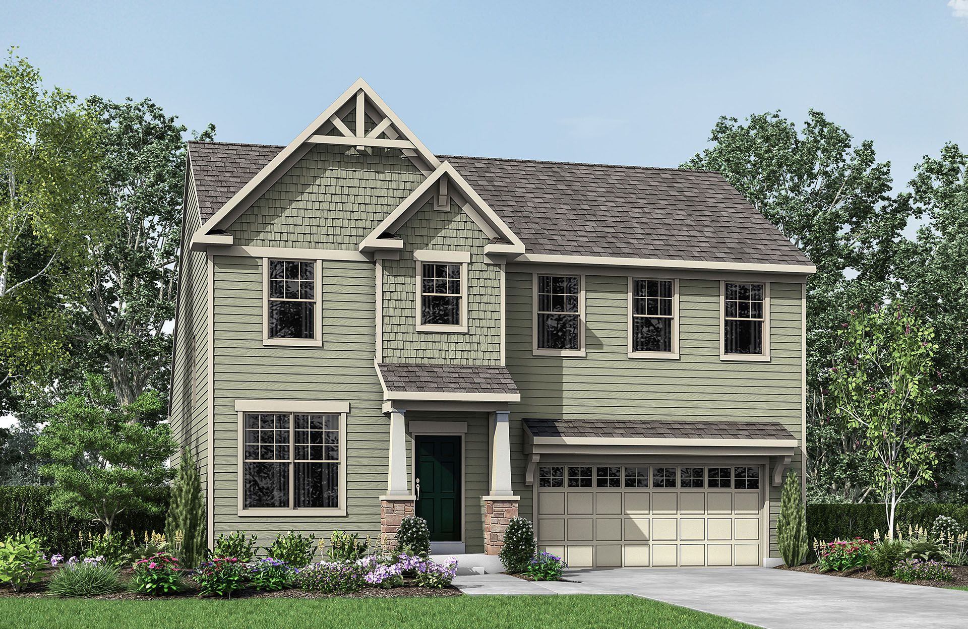Single Family for Active at Glad Hill Estates - Maddox 3600 Donna Court Monrovia, Maryland 21770 United States