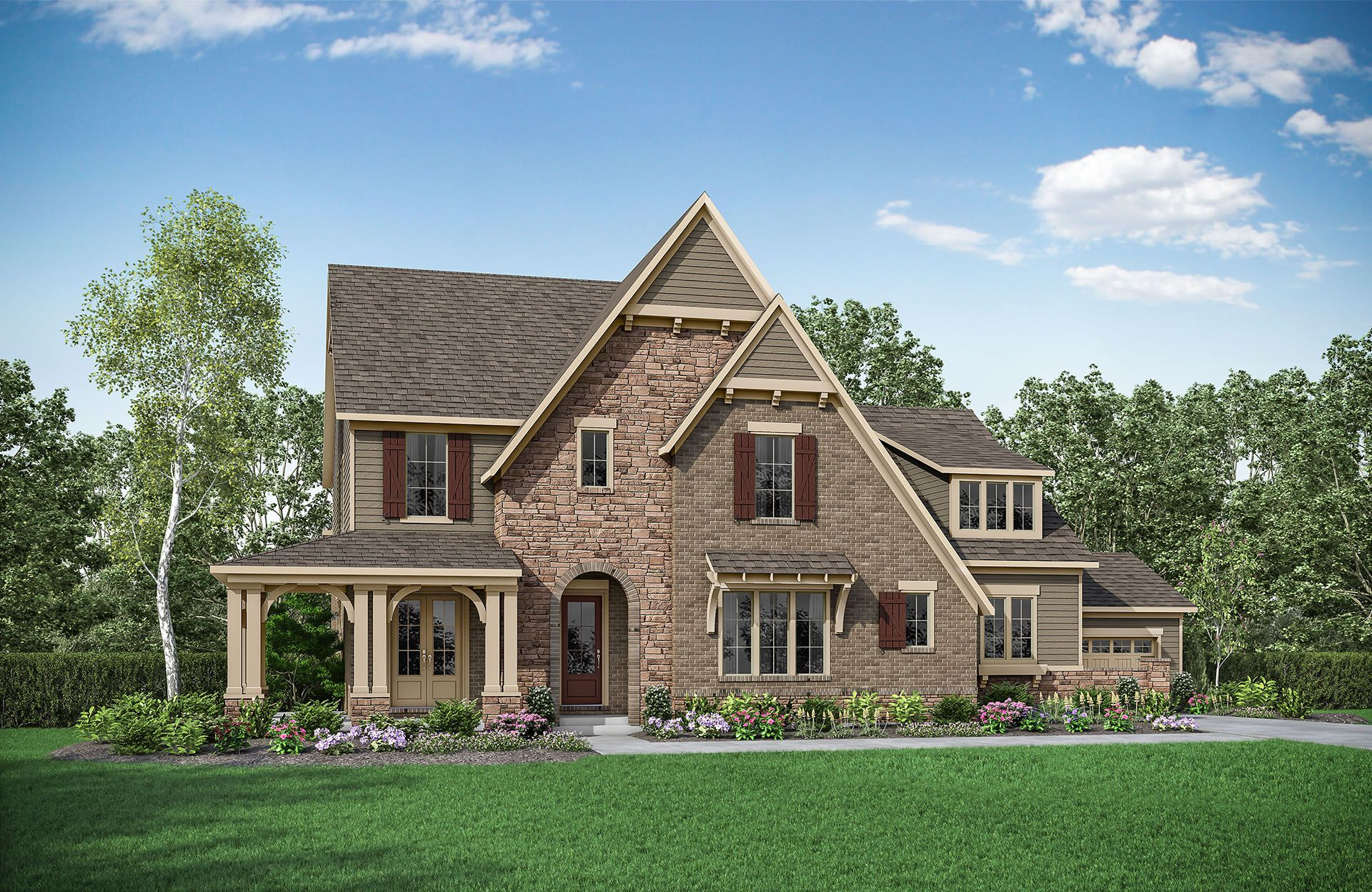 Single Family for Active at Oakton 41209 Chatham Green Circle Aldie, Virginia 20105 United States