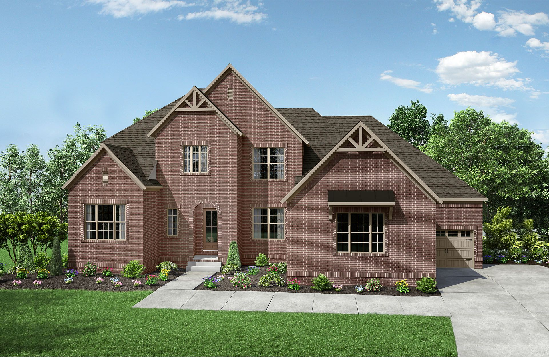 Single Family for Active at Kings' Chapel - Morrison 4544 Majestic Meadow Drive Arrington, Tennessee 37014 United States