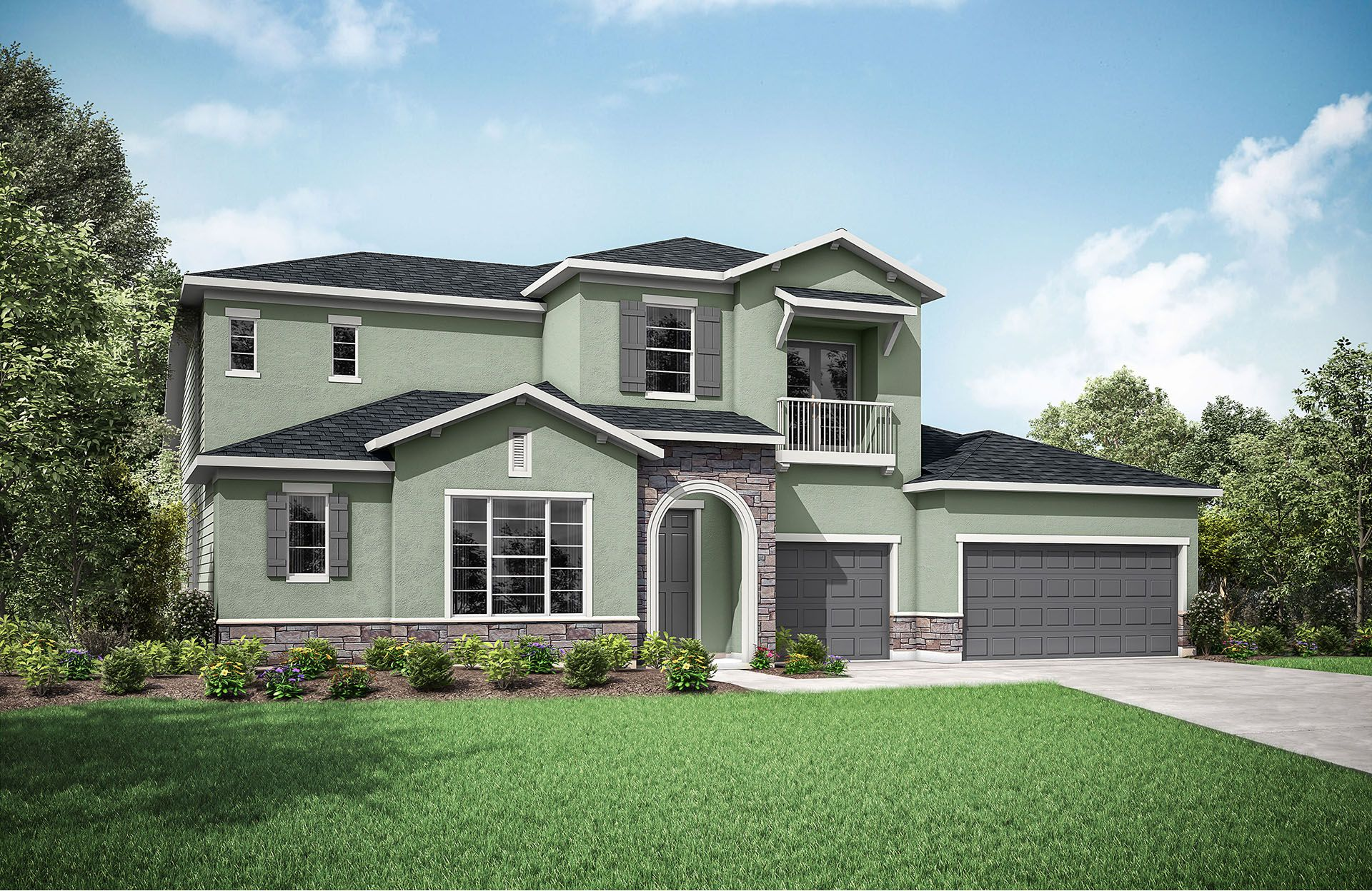 Single Family for Active at Eagle Landing - Jameson 407 Kirkland Court Orange Park, Florida 32065 United States