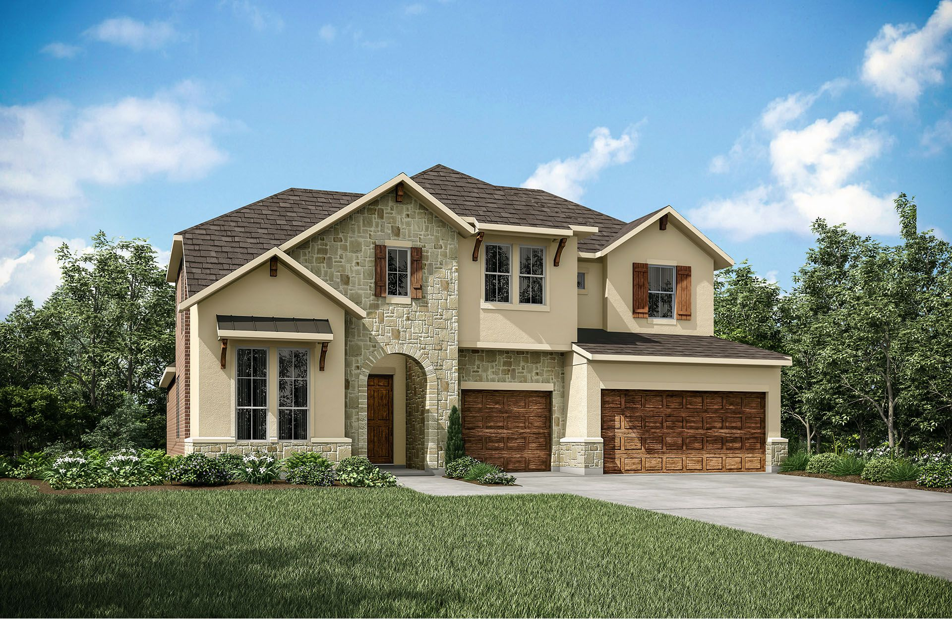 Single Family for Active at Sumlin 314 Parke Wind Way Cedar Park, Texas 78613 United States