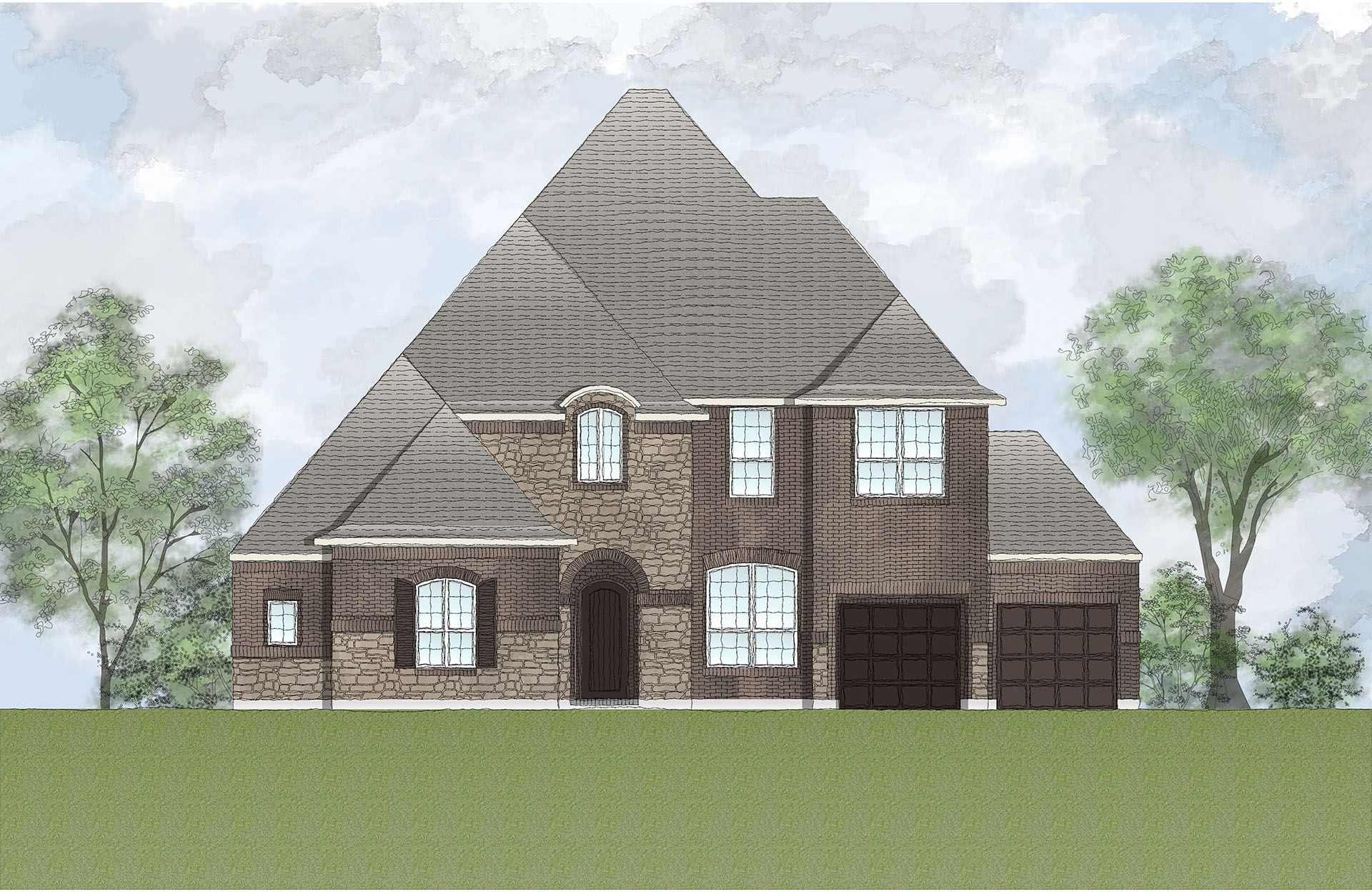 Single Family for Active at Harper's Preserve - Riviera Model Home Coming Soon! Conroe, Texas 77385 United States
