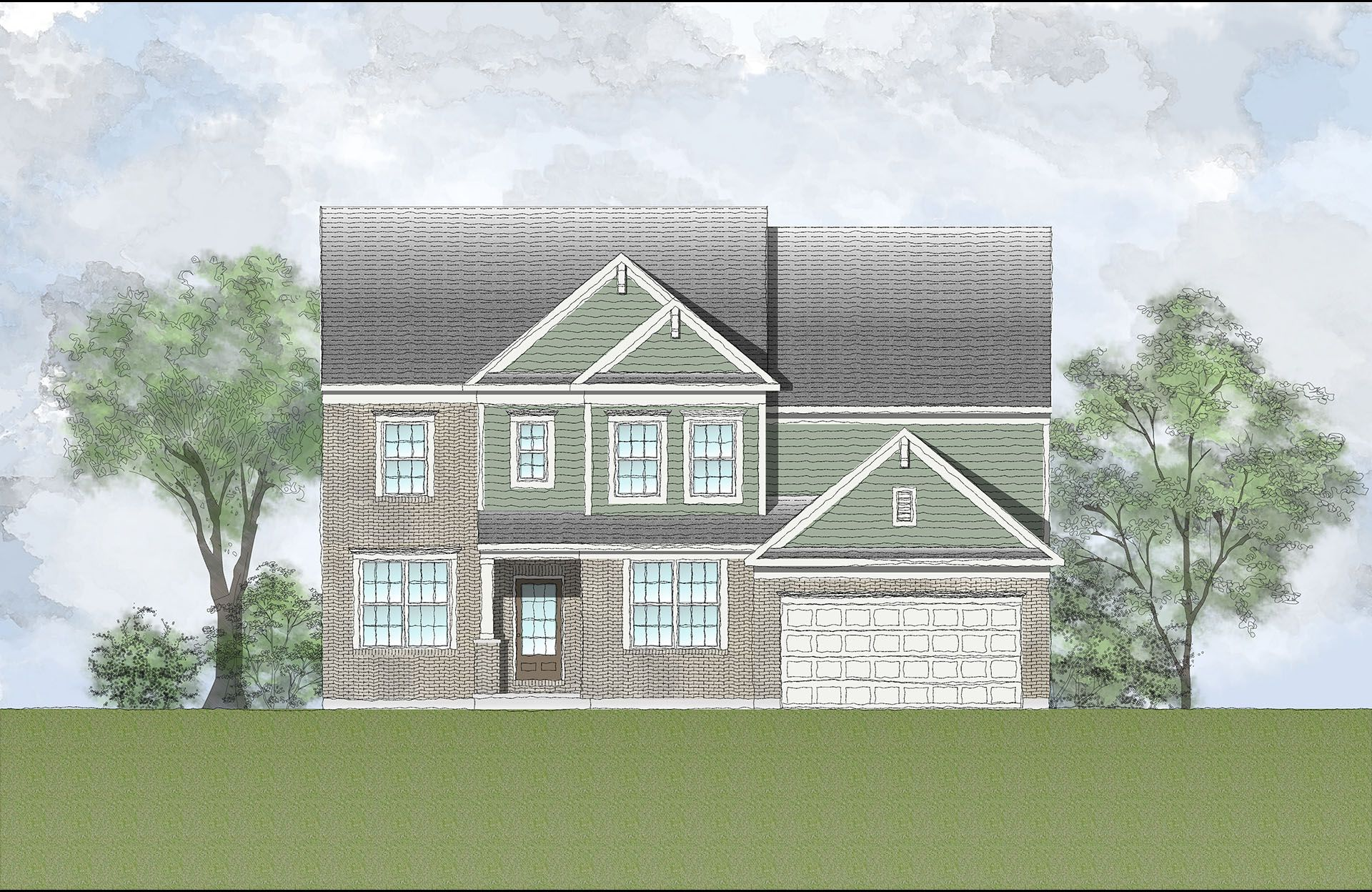 Single Family for Sale at Enclave At South Ridge - Northbrook 3416 Southway Ridge Erlanger, Kentucky 41018 United States