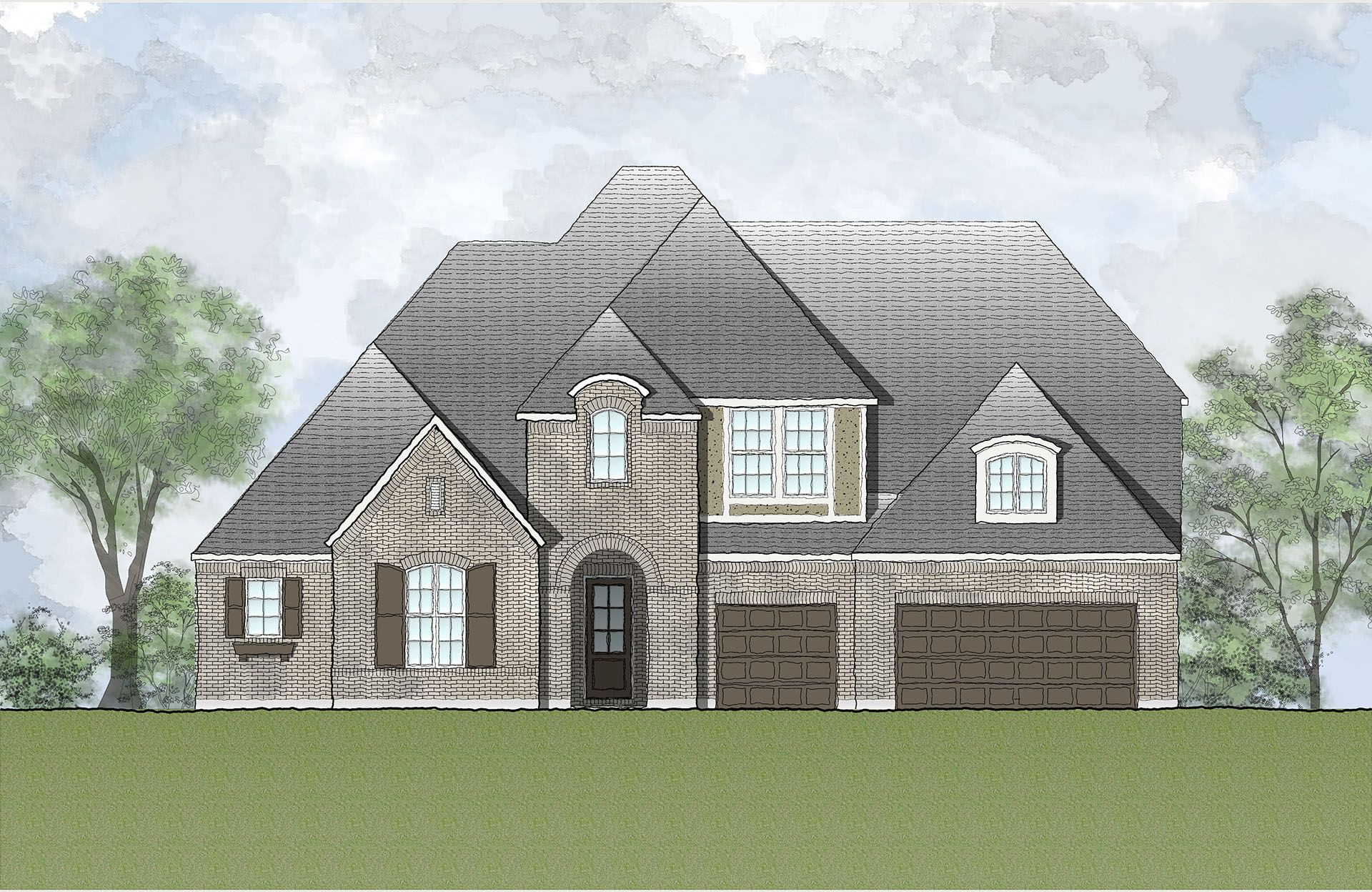 Single Family for Active at West Parke - Delano 1501 Parke Bluff Bend Cedar Park, Texas 78613 United States