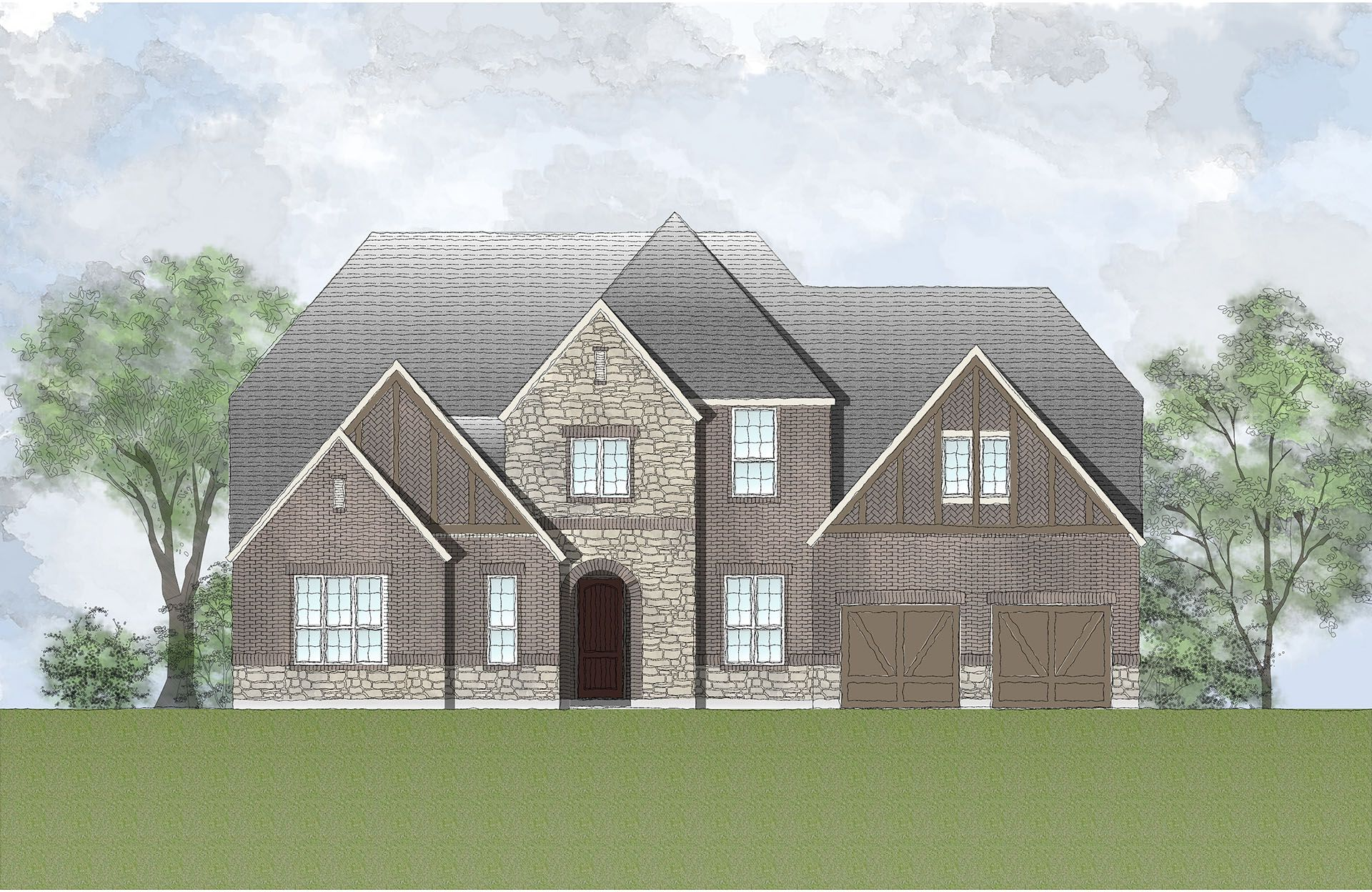 Single Family for Active at Woodtrace - Grantley 33923 Redwood Park Pinehurst, Texas 77362 United States