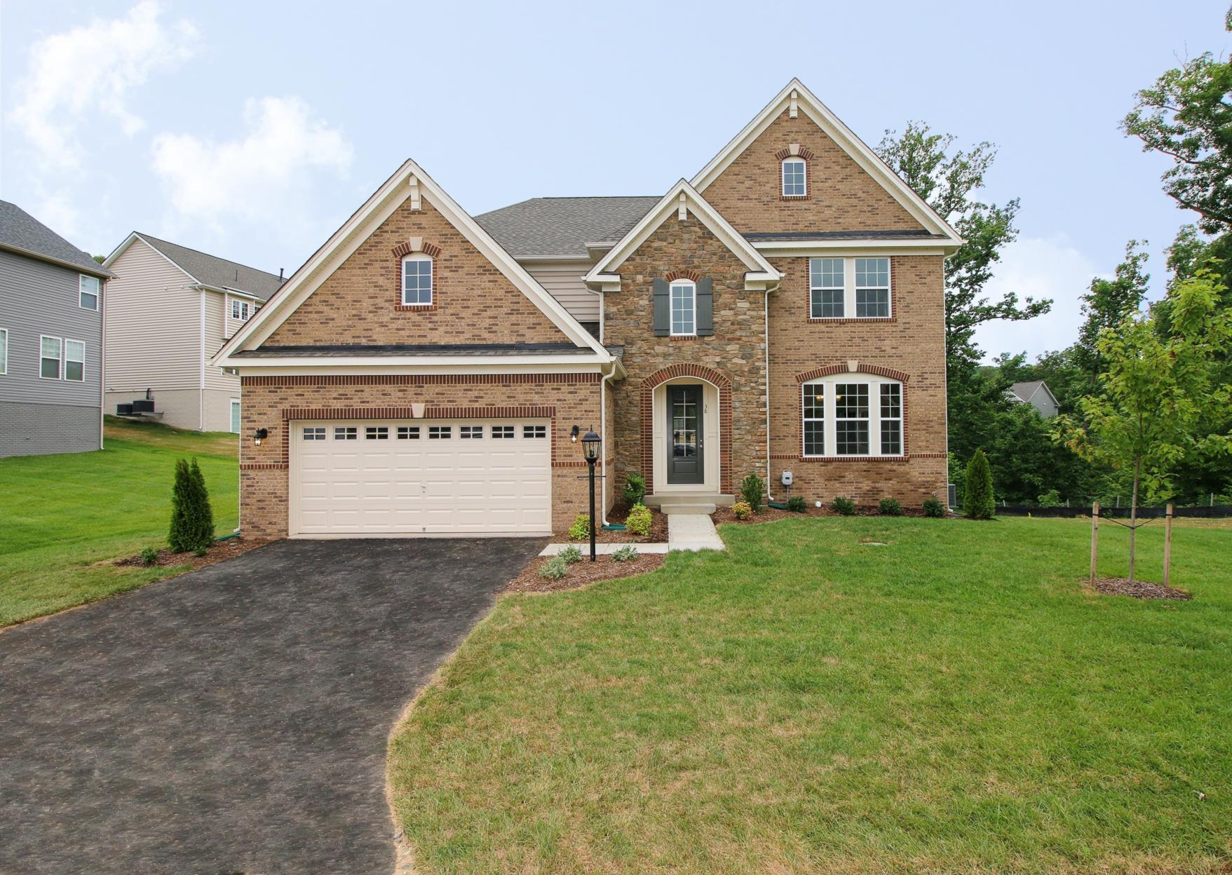 Single Family for Active at Rowan 38 Bradbury Way Stafford, Virginia 22554 United States