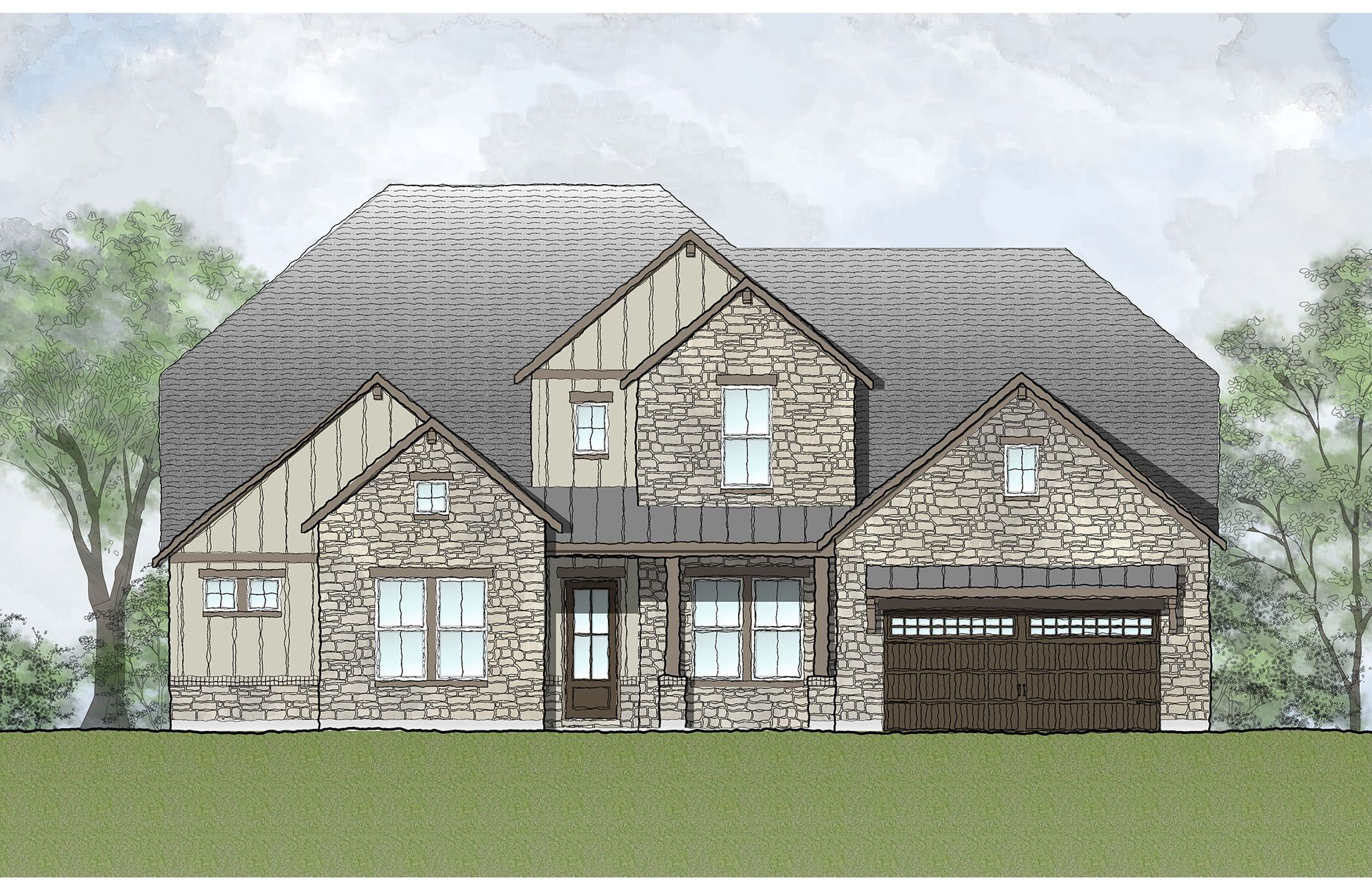 Single Family for Active at Wolf Ranch - Grantley 108 Barefoot Park Georgetown, Texas 78628 United States