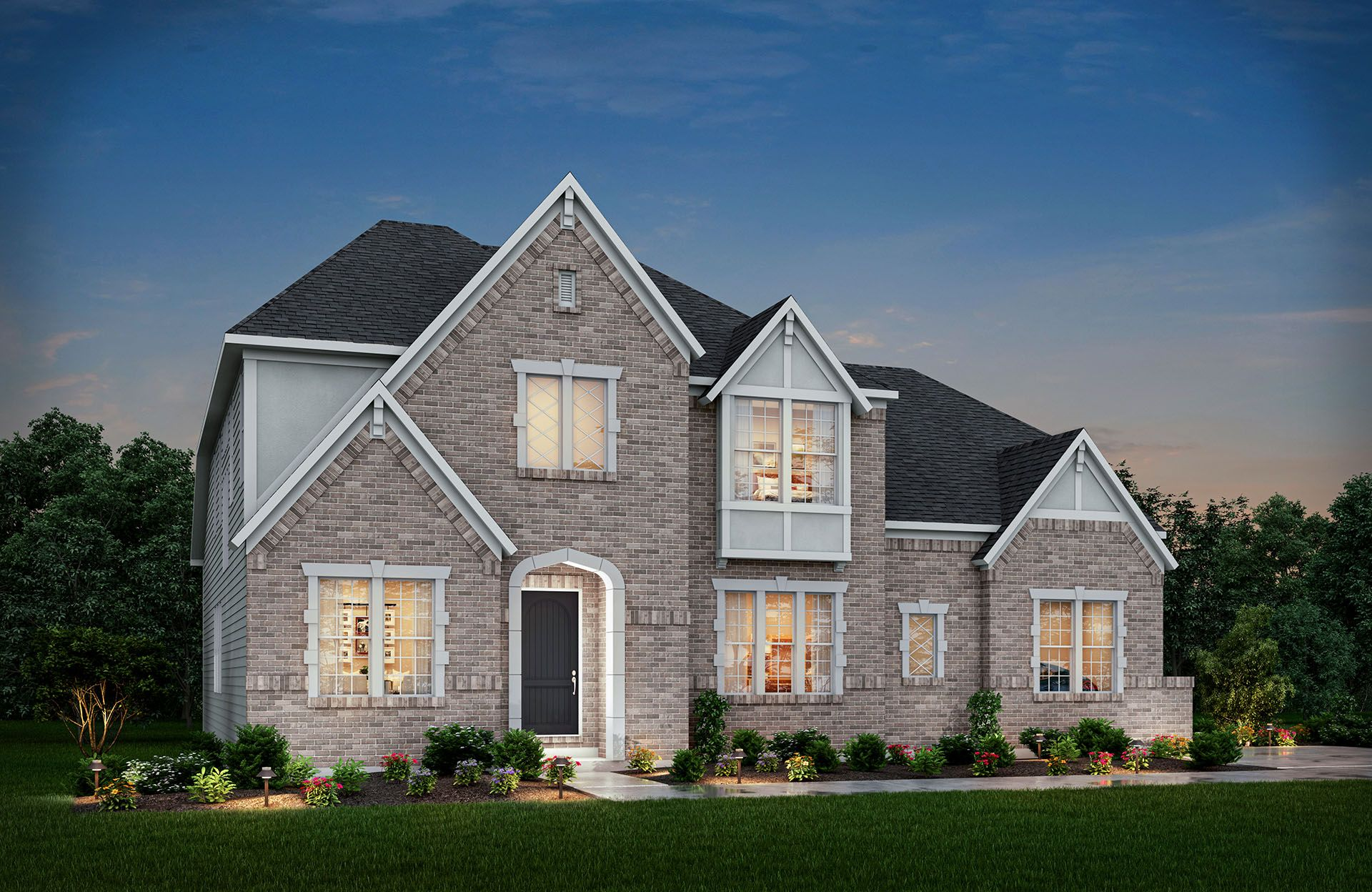 Single Family for Active at Flat Fork - Monticello 10882 Edgewood Drive Fortville, Indiana 46040 United States