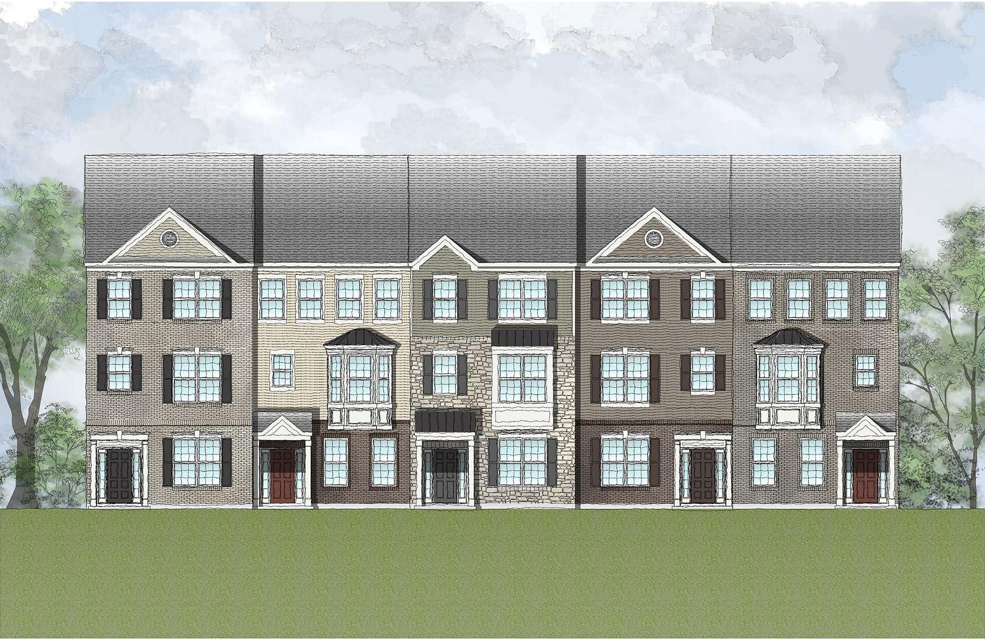 Real Estate at New Post - Townhomes, Fredericksburg in Spotsylvania County, VA 22408