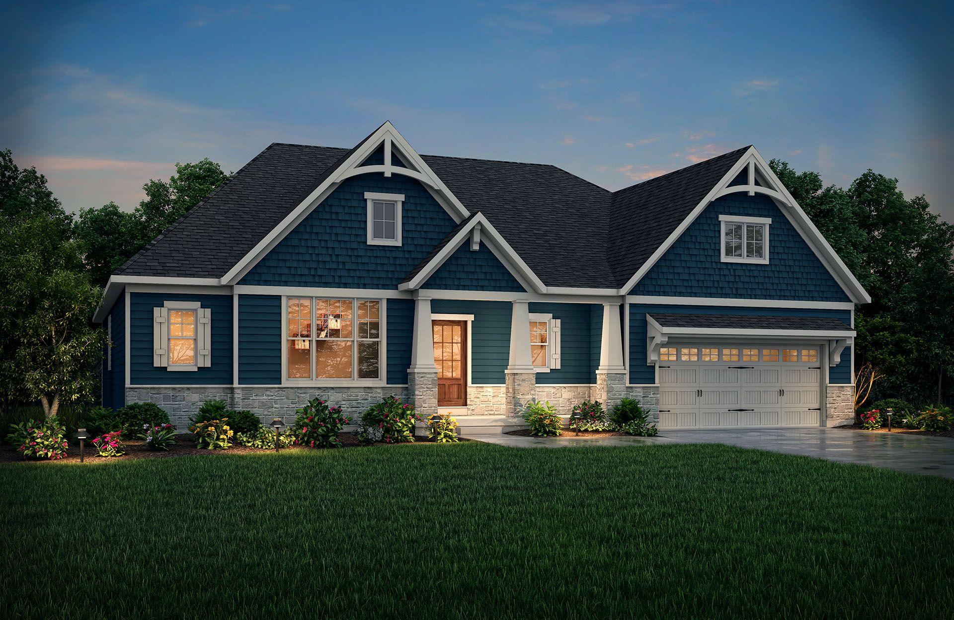 Single Family for Active at Oak Ridge At Tipton Lakes - Lyndhurst 4950 Carr Hill Road Columbus, Indiana 47201 United States
