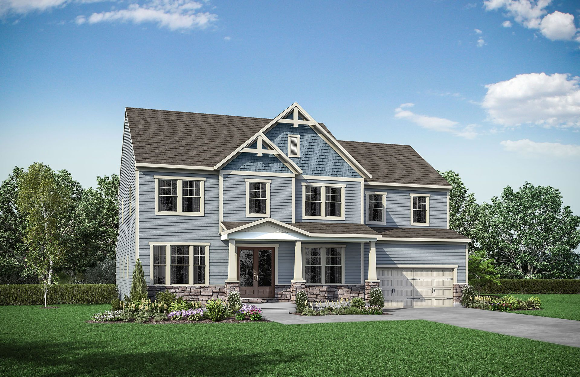 Single Family for Active at Virginia Crossing - Sherwood 7001 Saint Hill Court Haymarket, Virginia 20169 United States