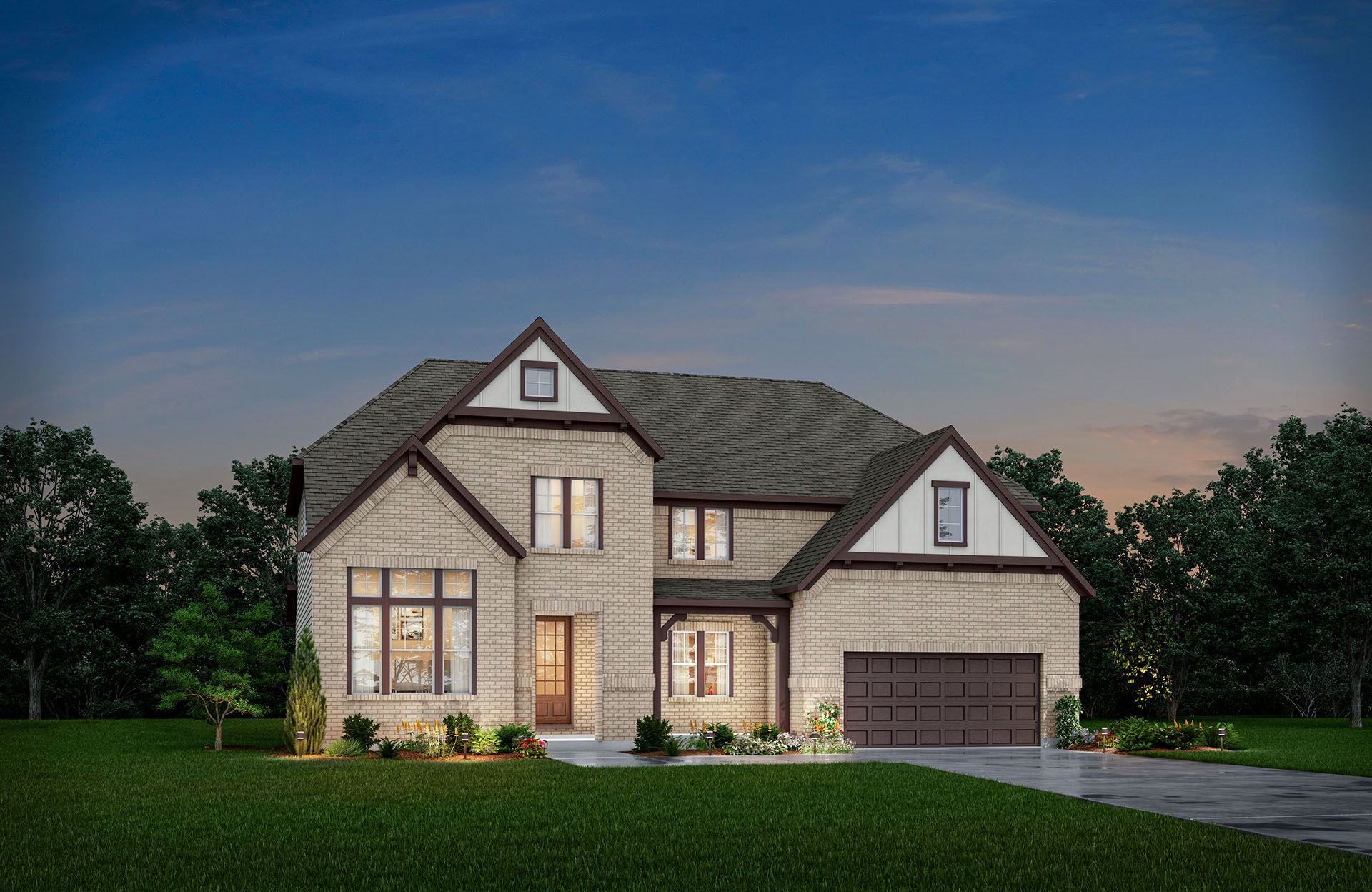 Single Family for Active at Winfield 5146 Oak Ridge Trail Columbus, Indiana 47201 United States