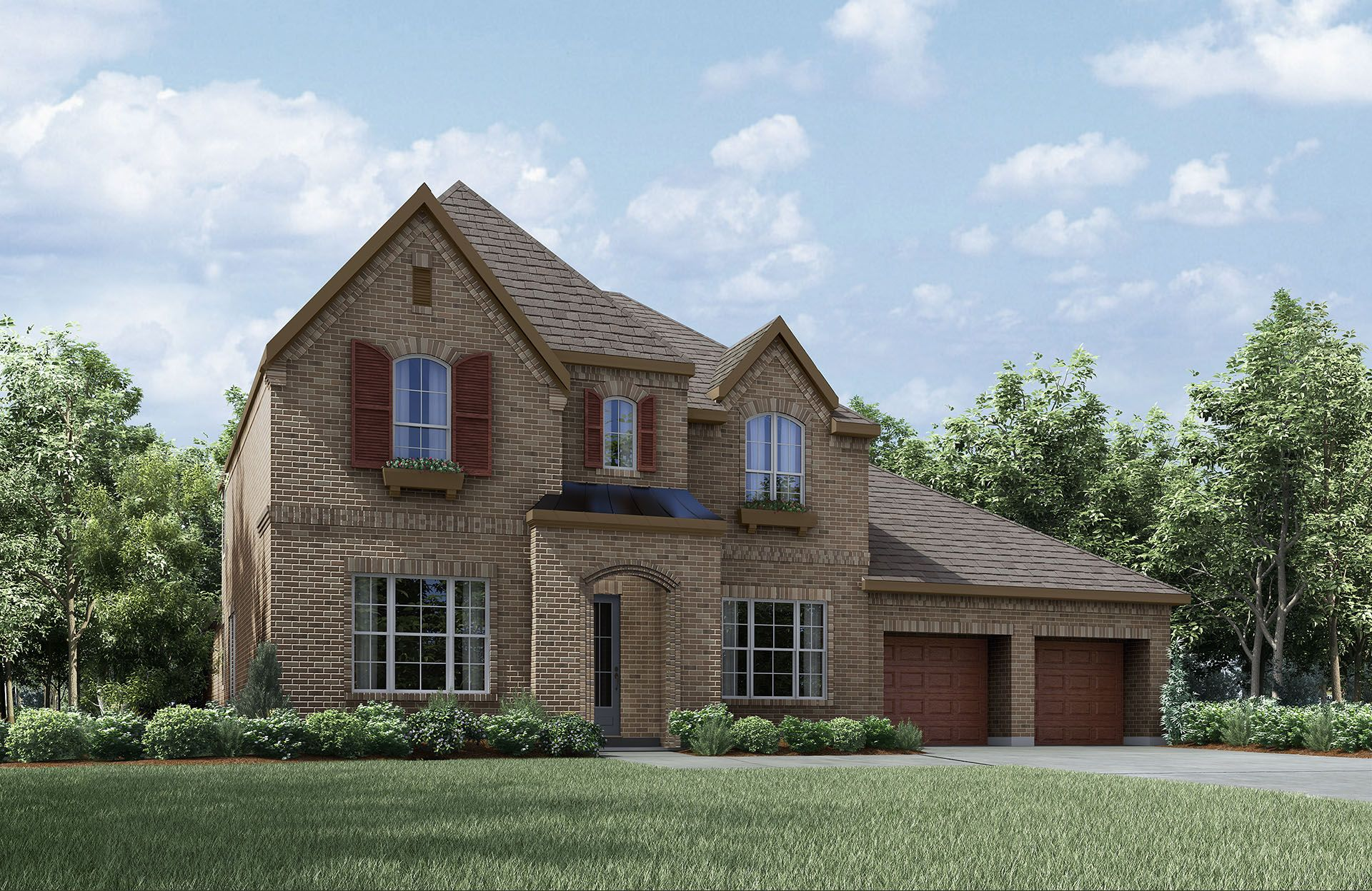 Single Family for Active at Tanner 7016 Union Park Blvd East Aubrey, Texas 76227 United States