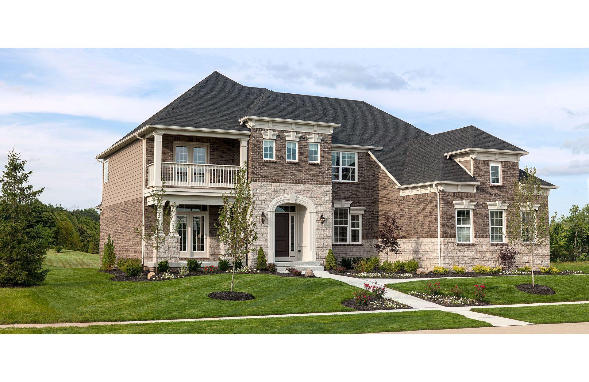 单亲家庭 为 销售 在 Highland Park - Langdon Ravinia Lane Avon, Ohio 44011 United States
