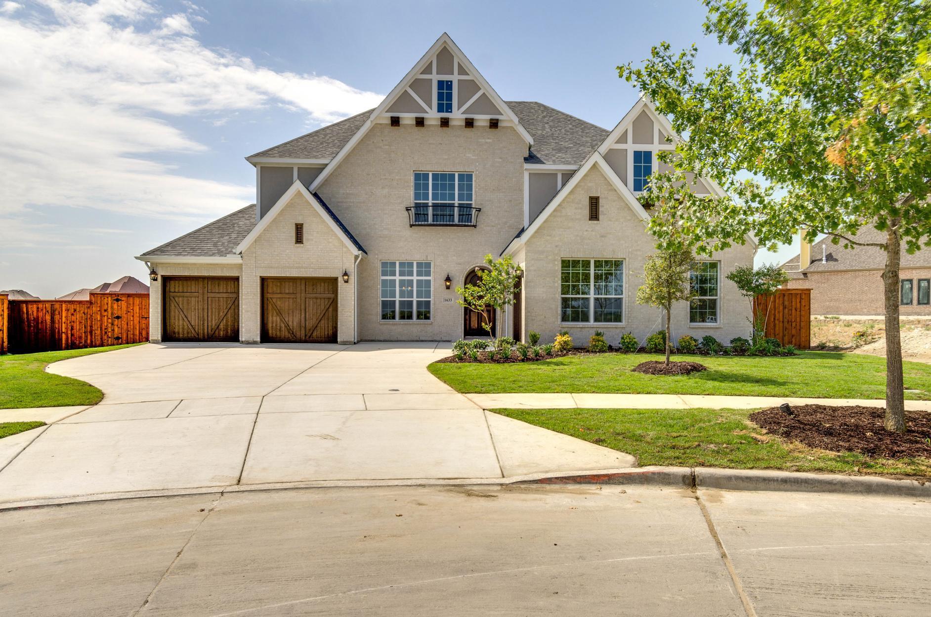 Single Family for Active at Bracken W 1633 Prairie Ridge Road Aledo, Texas 76008 United States