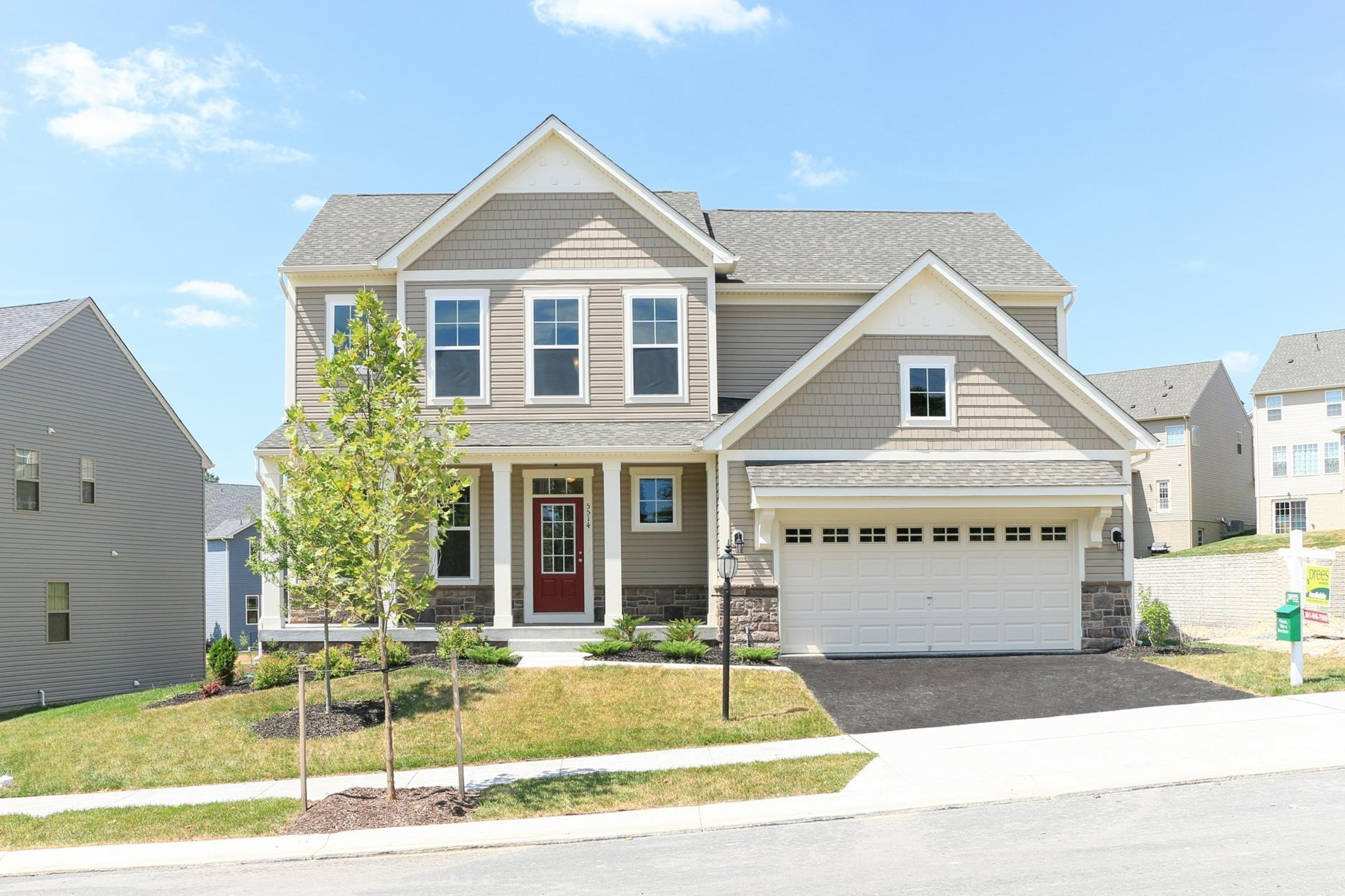 Single Family for Active at Wycliff 5514 Golden Eagle Road Frederick, Maryland 21704 United States