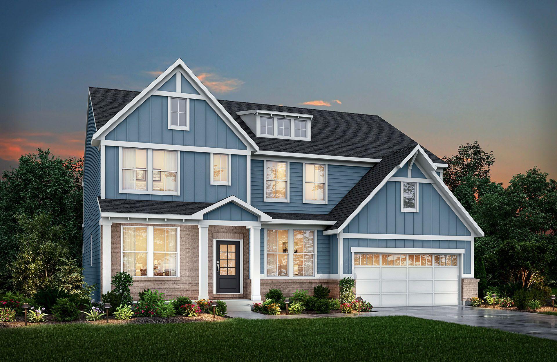 Single Family for Active at Vanderburgh 3141 Gray Hawk Drive Columbus, Indiana 47201 United States