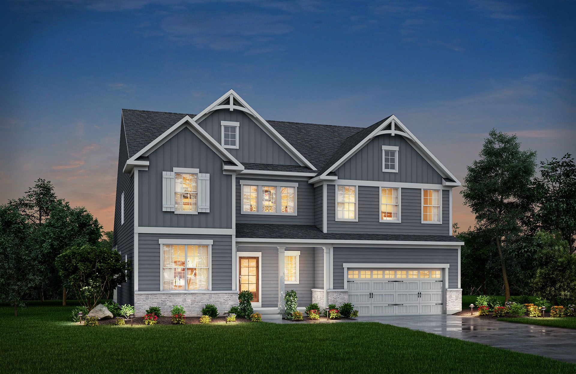 Single Family for Active at Oak Ridge At Tipton Lakes - Hollister 4950 Carr Hill Road Columbus, Indiana 47201 United States