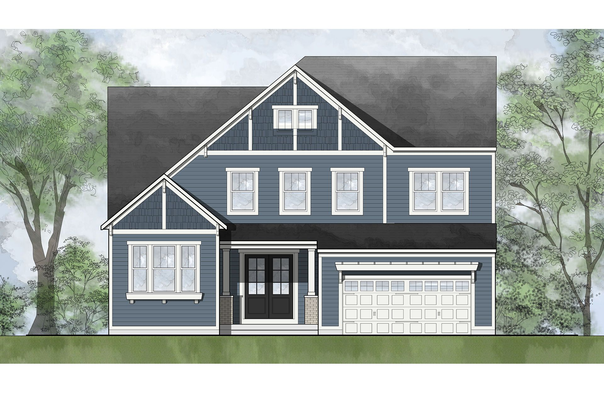 Single Family for Active at Estates At Rocky Pen - Kaitlyn 85 Edgewater Drive Falmouth, Virginia 22405 United States