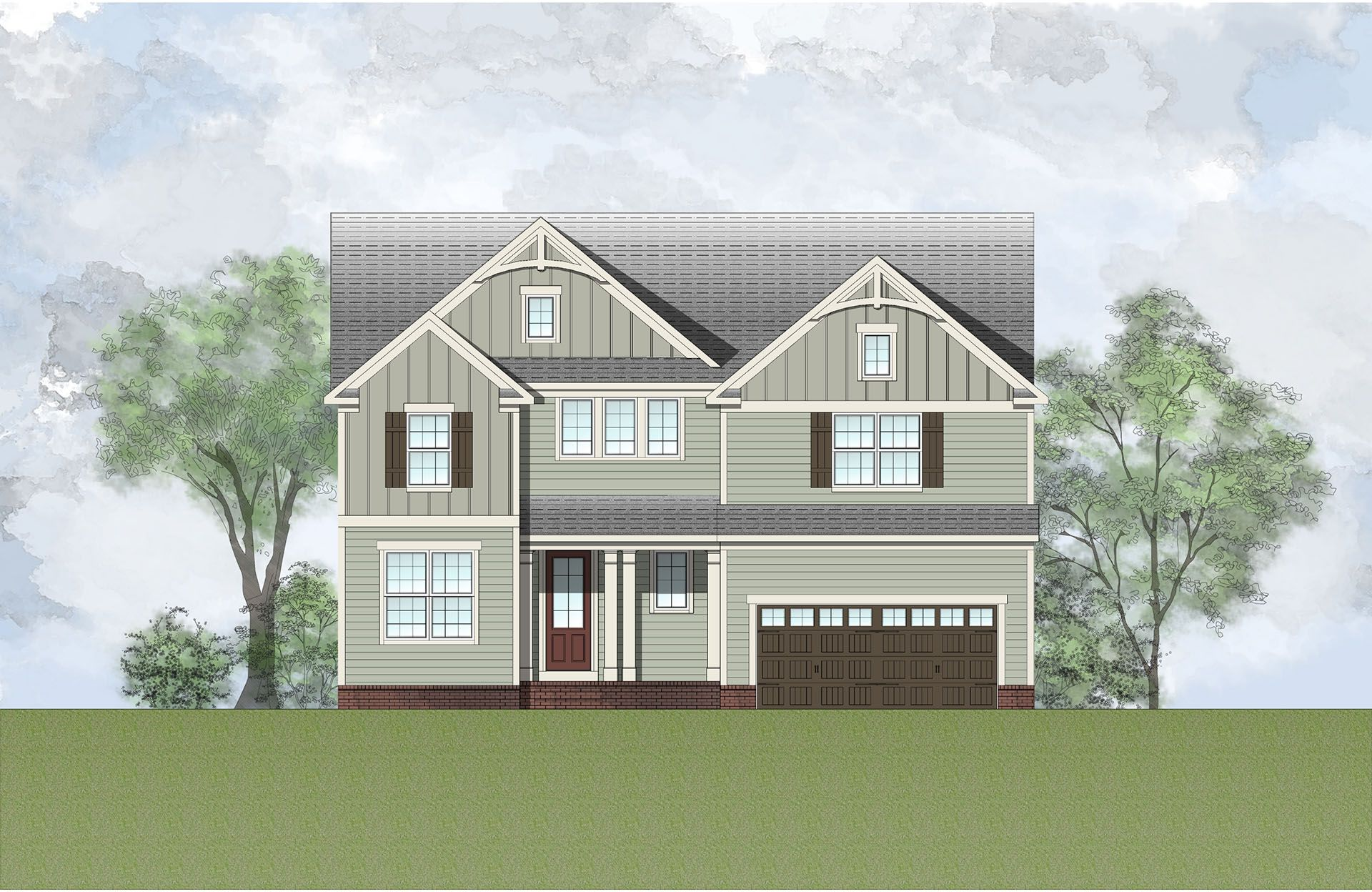 Single Family for Active at Willoughby - Hollister Ii 496 Adkins Ridge Road Rolesville, North Carolina 27571 United States
