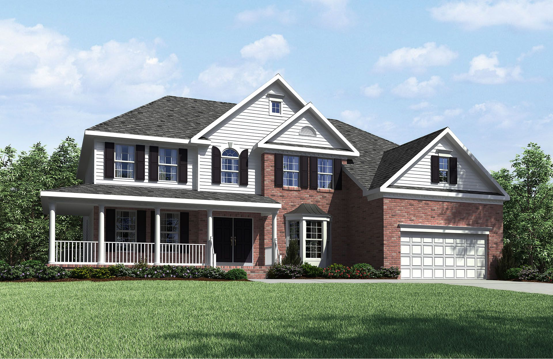Single Family for Active at Lochridge - The Estates - Langdon 208 Falling Stone Drive Holly Springs, North Carolina 27540 United States