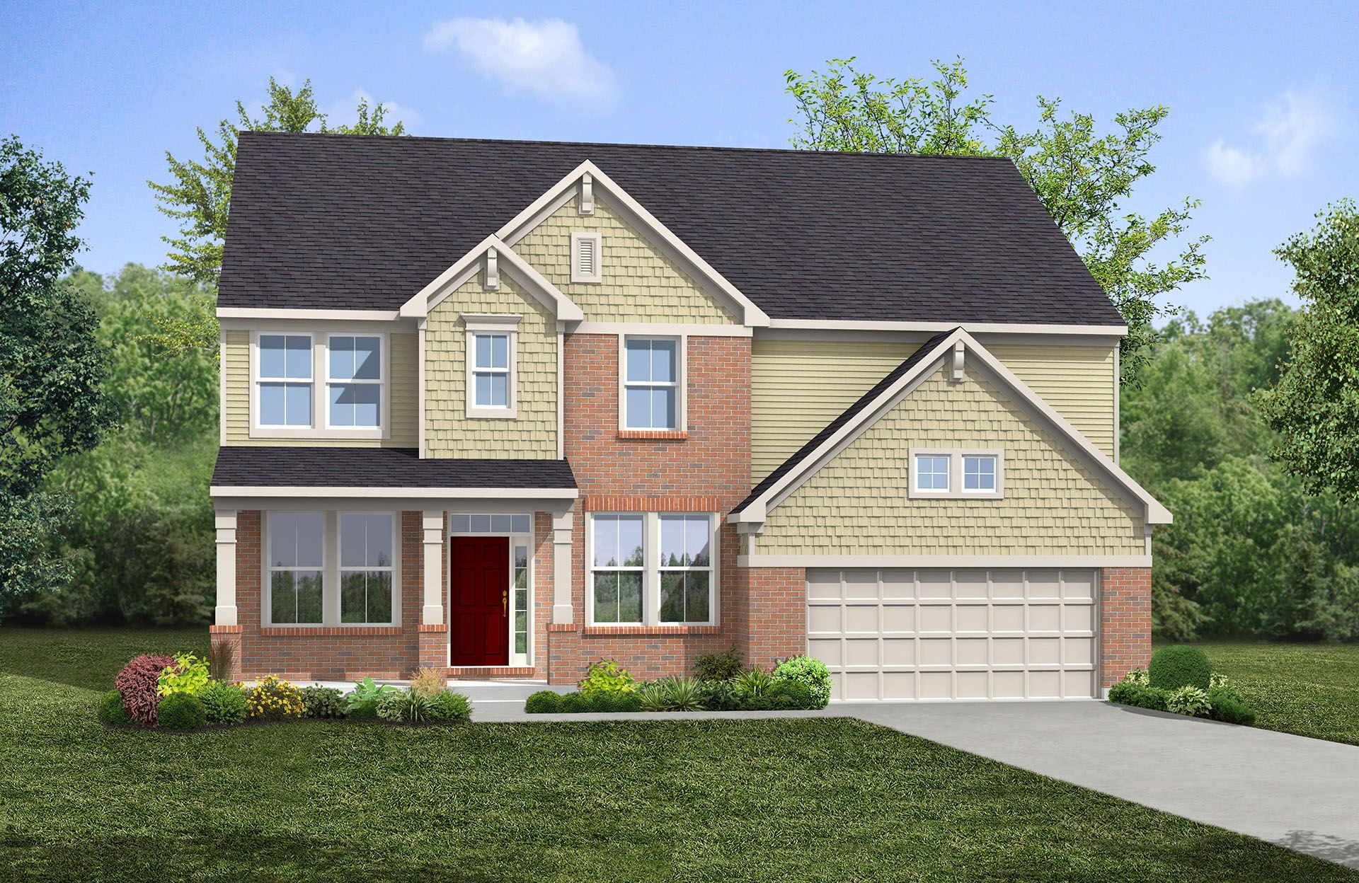 Single Family for Active at Tallyn Ridge Estates - Buchanan 8395 Pine Bluff Road Frederick, Maryland 21704 United States