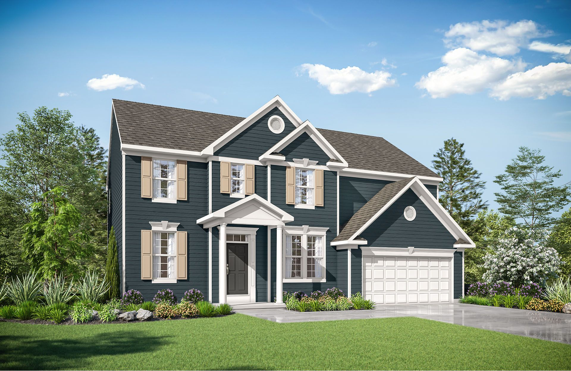 Single Family for Active at Virginia Crossing - Quentin 7001 Saint Hill Court Haymarket, Virginia 20169 United States