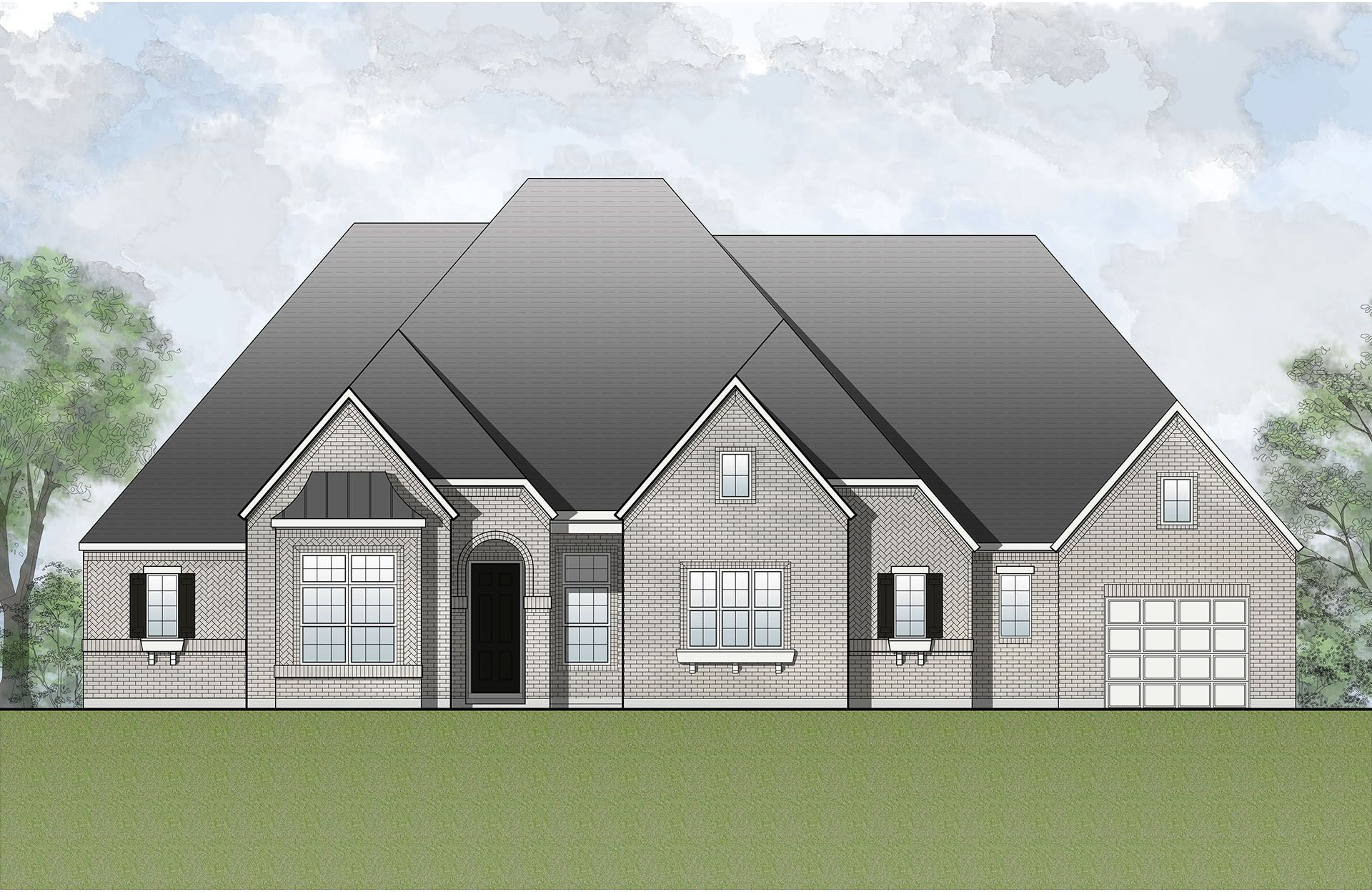 Single Family for Sale at Breezy Hill - Marley 795 Featherstone Rockwall, Texas 75087 United States