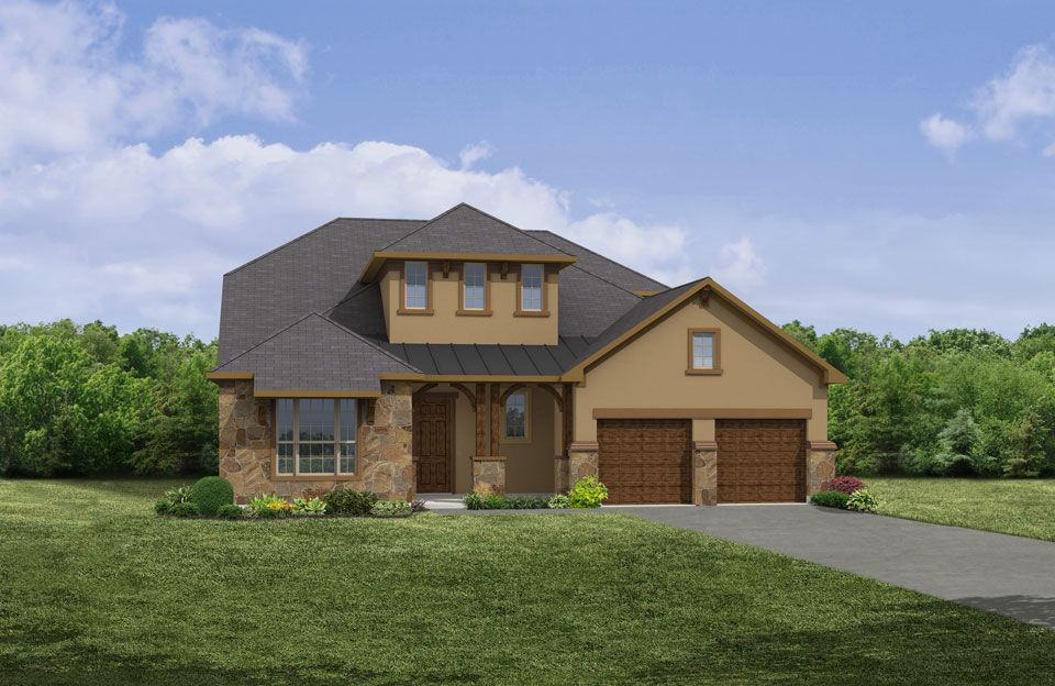 Single Family for Sale at Cimarron Hills - Colton 307 Flint Ridge Trail Georgetown, Texas 78628 United States