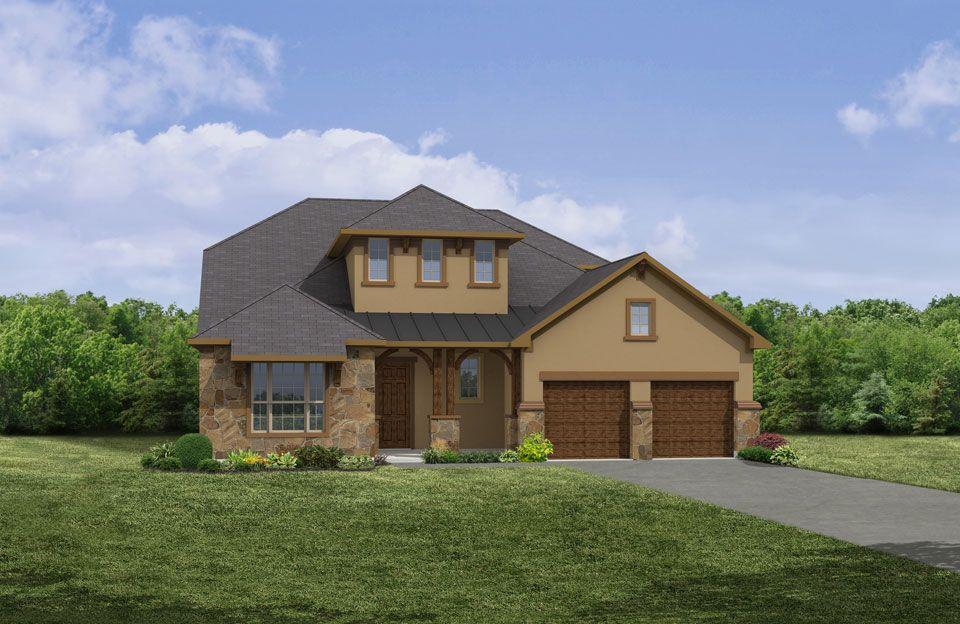 Single Family for Sale at Cimarron Hills - Colton 307 Flint Ridge Georgetown, Texas 78628 United States