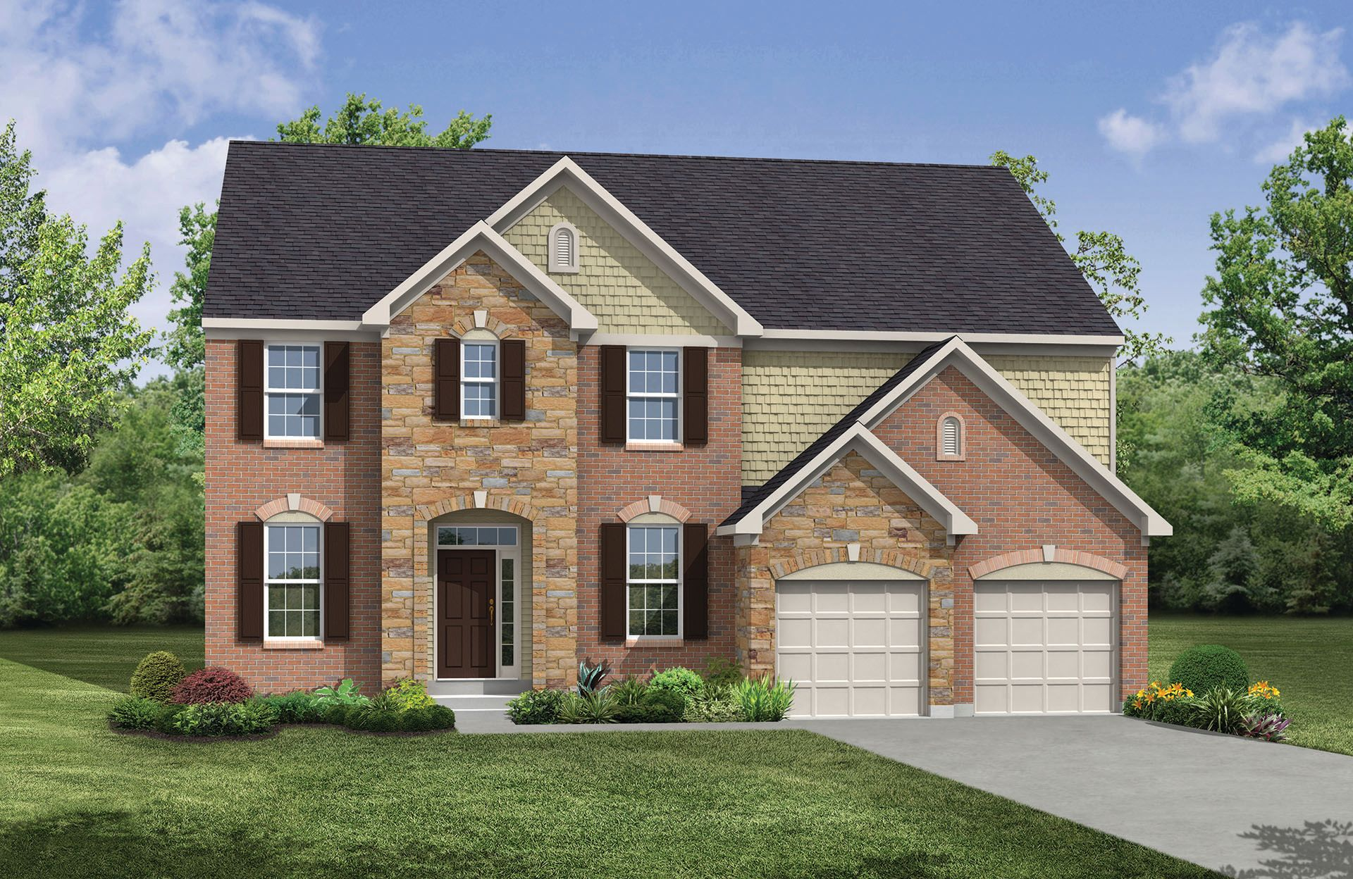 Single Family for Active at Glad Hill Estates - Buchanan 3600 Donna Court Monrovia, Maryland 21770 United States