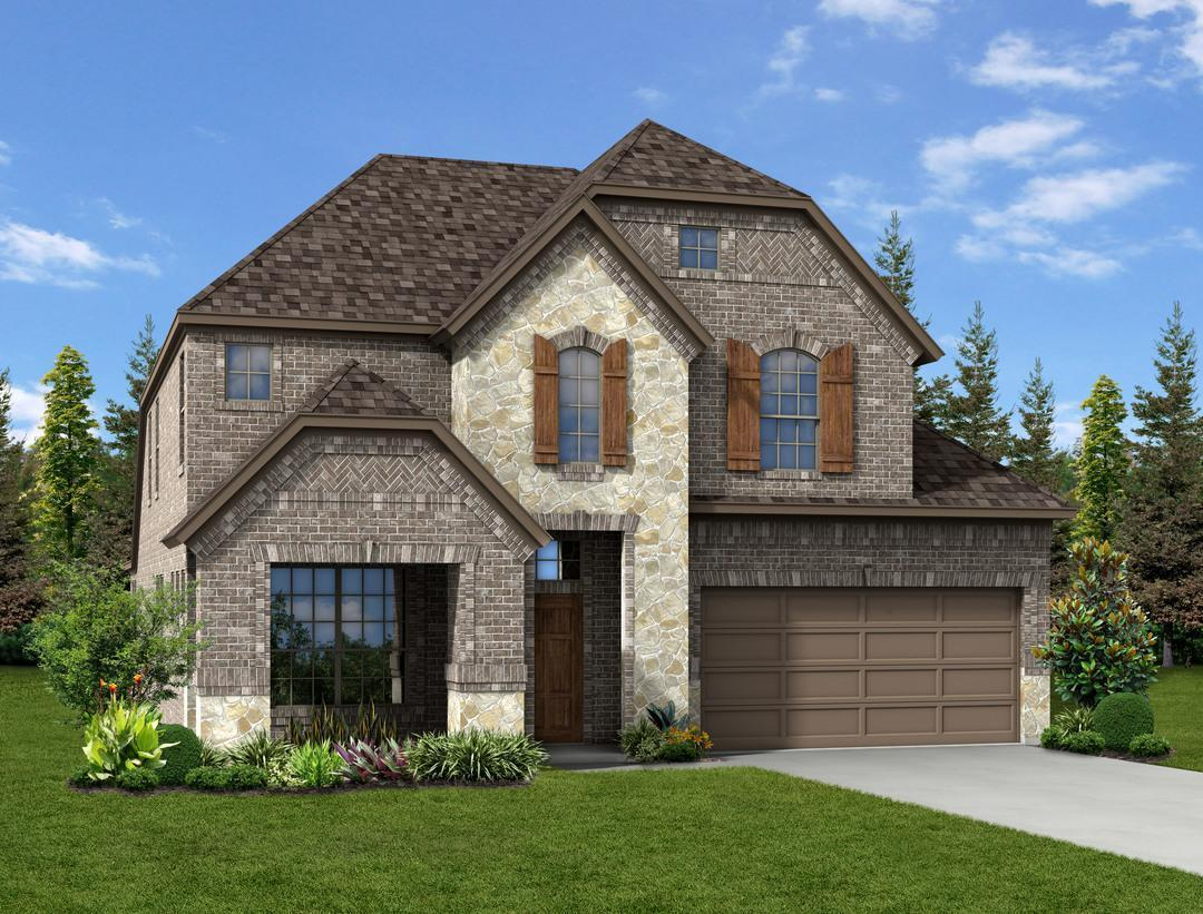 Dunhill homes woodcreek grayson pc 1396695 fate tx for Grayson home