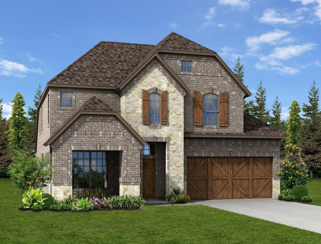 Dunhill homes chisholm trail ranch grayson ctr 1345691 for Grayson home
