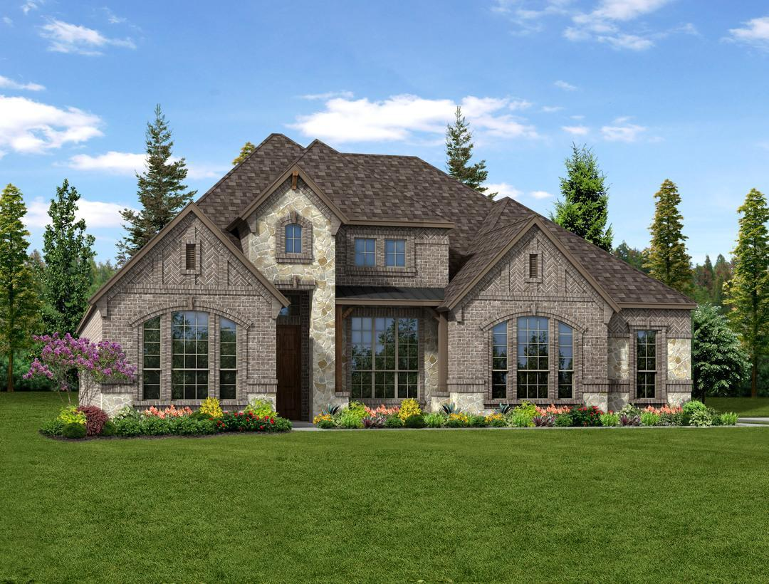 Valencia on the lake new homes in little elm tx by dunhill for Valencia home