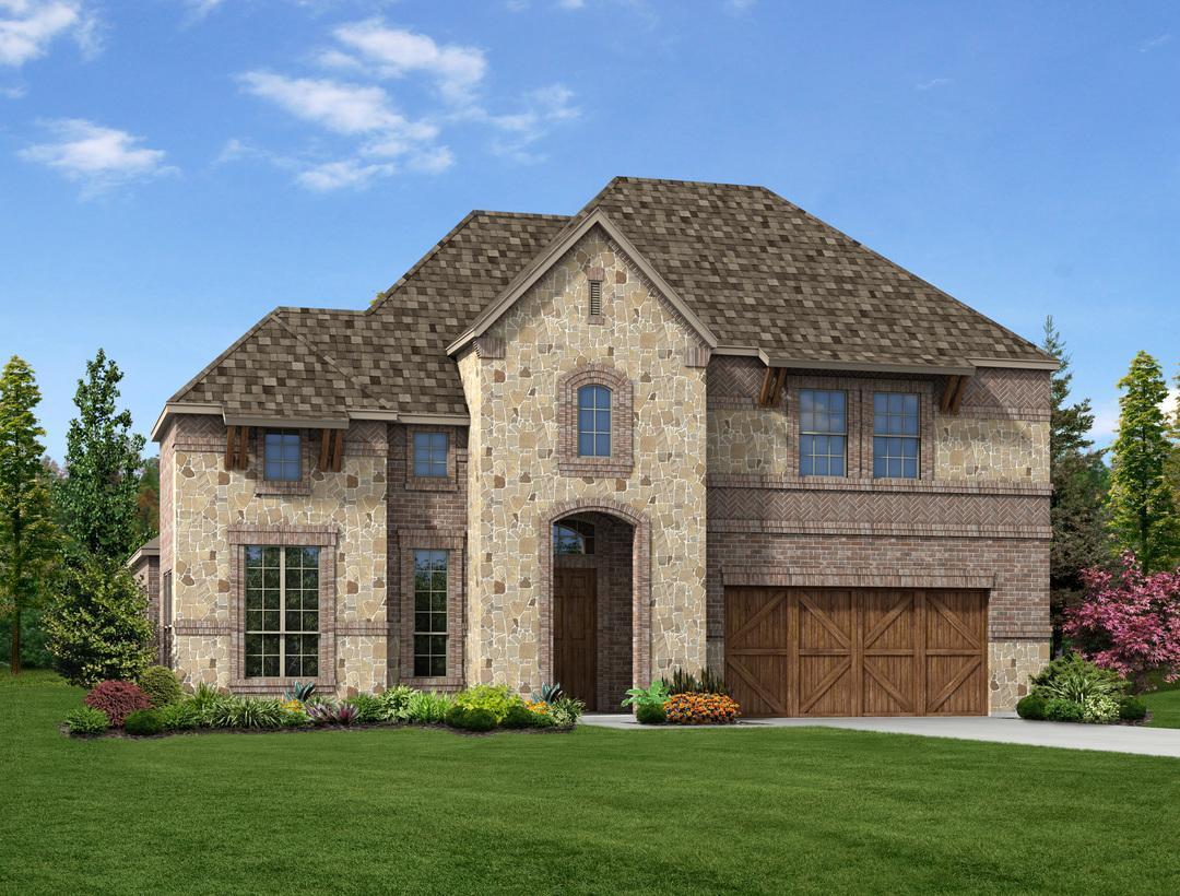 Single Family for Sale at Shadow Creek Estates - Riley 5054 - Cedar 105 Shadow Creek Lane Hickory Creek, Texas 75065 United States